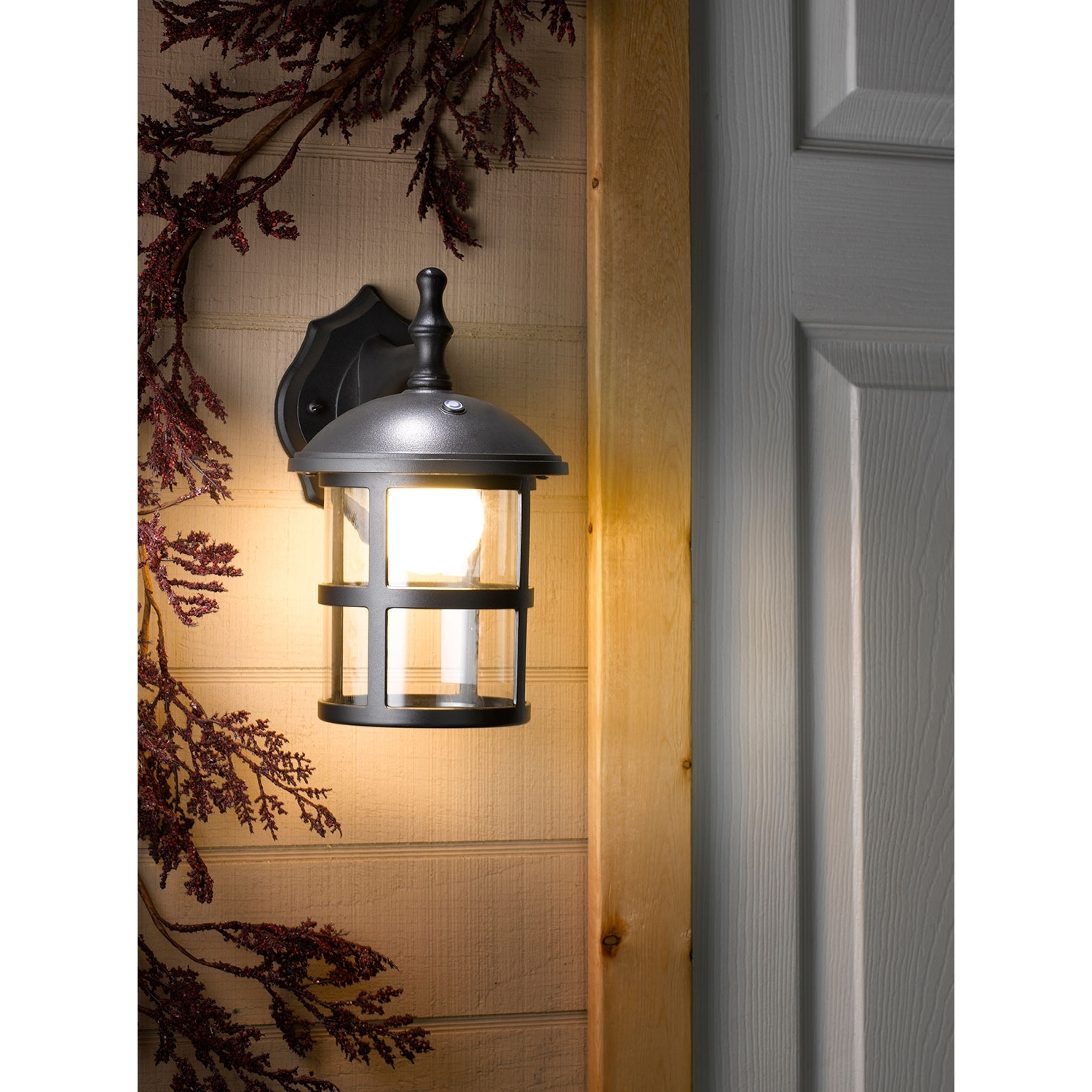 Honeywell Ss0201 08 Led Outdoor Wall Mount Lantern Light, 3000K, 400 With Regard To Best And Newest Outdoor Wall Lantern Lights (View 7 of 20)