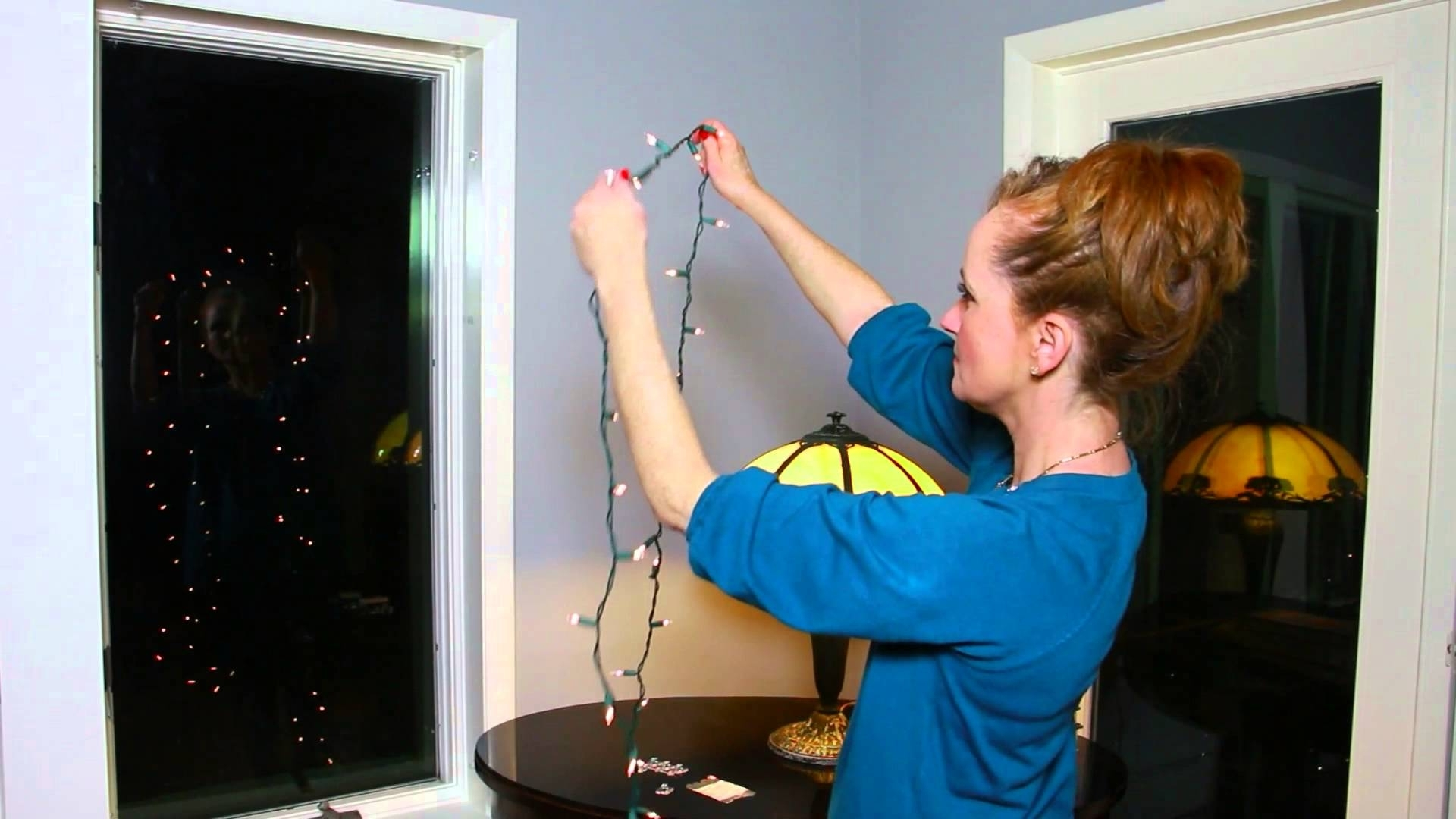 How To Attach Christmas Lights To The Inside Of A Window : Christmas With Famous Hanging Outdoor Christmas Lights Around Windows (View 3 of 20)