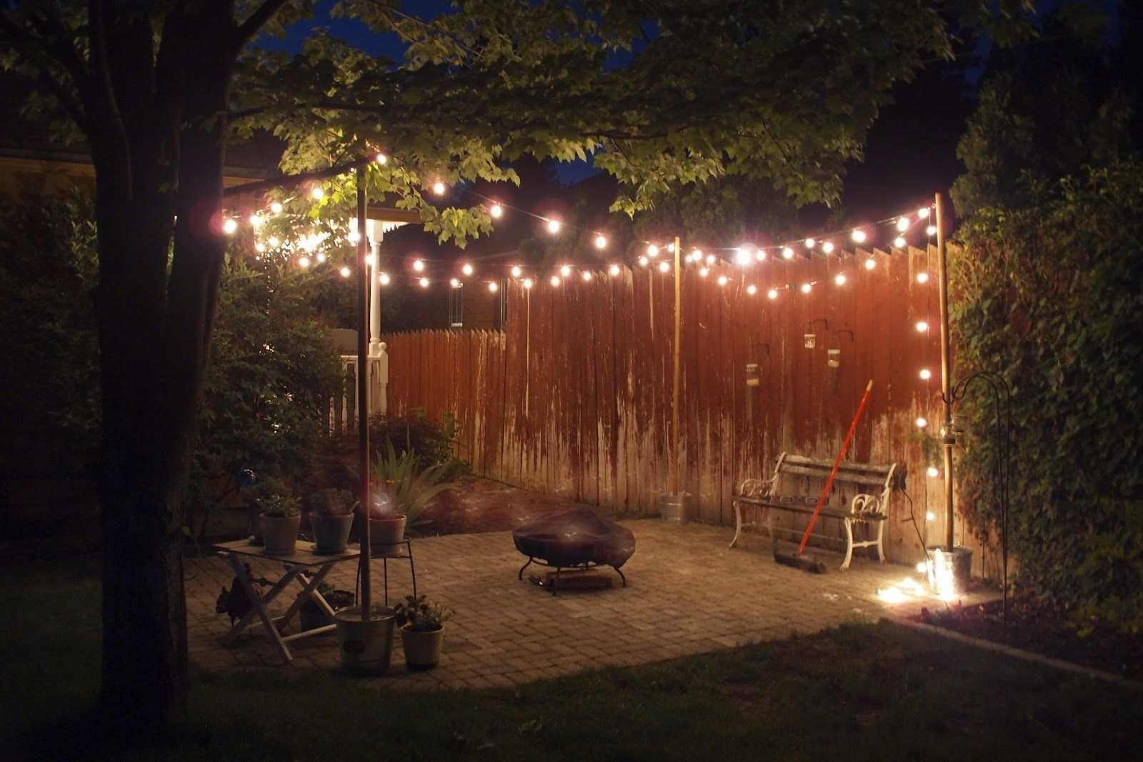 How To Hang Outdoor String Lights On Stucco Fresh Garden Lighting Inside Famous Hanging Outdoor Lights On Stucco (View 9 of 20)