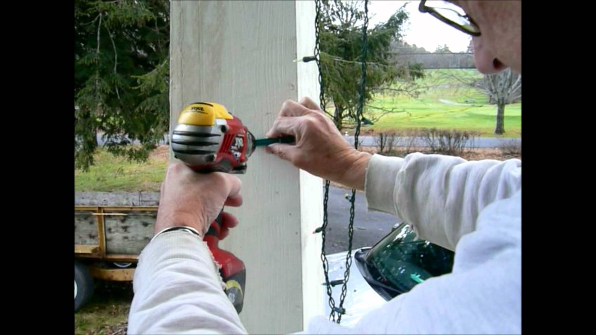 How To Install Outside Christmas Lights. – Youtube Pertaining To Most Popular Hanging Outdoor Christmas Lights Hooks (Gallery 6 of 20)