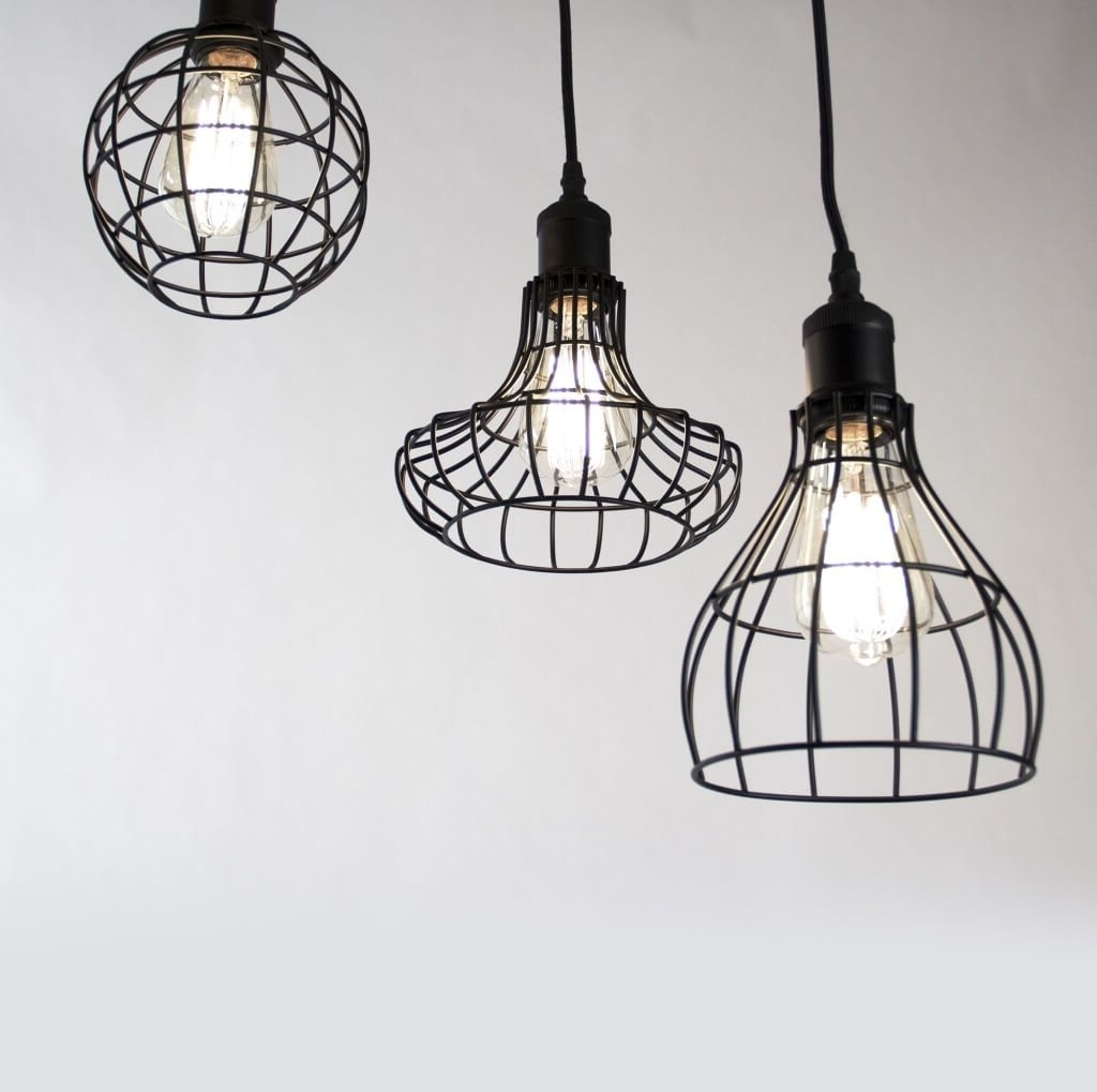 Industrial Outdoor Hanging Lights With Regard To Fashionable Lighting: Industrial Style Outdoor Hanging Pendant Light With 2 (Gallery 14 of 20)