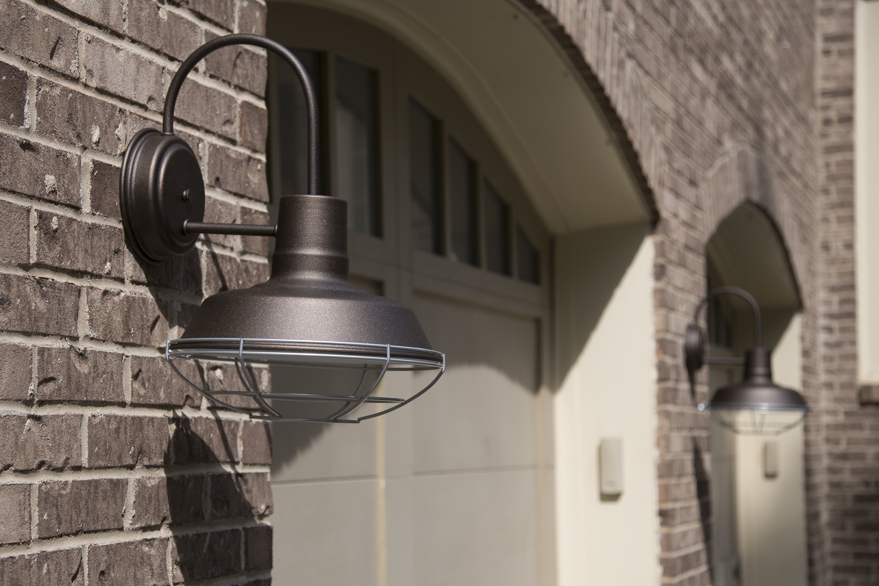 Interesting Ancient Outdoor Mount On The Wall Lighting Fixtures Intended For Recent Hanging Outdoor Lights On Brick (Gallery 17 of 20)