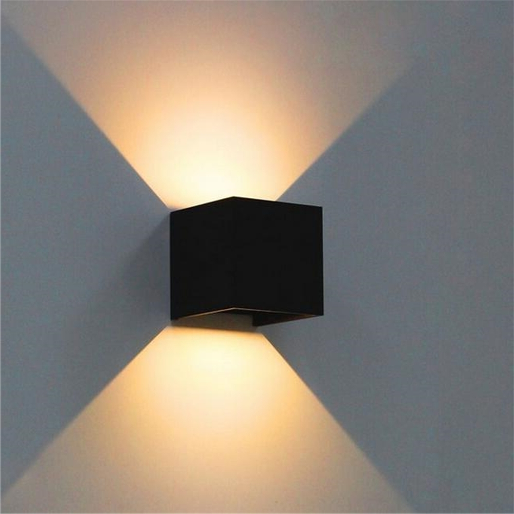 Ip65 Outdoor Wall Lights In Fashionable 7w Led Outdoor Wall Lamp Ip65 Adjustable Surface Mounted Outdoor (View 5 of 20)