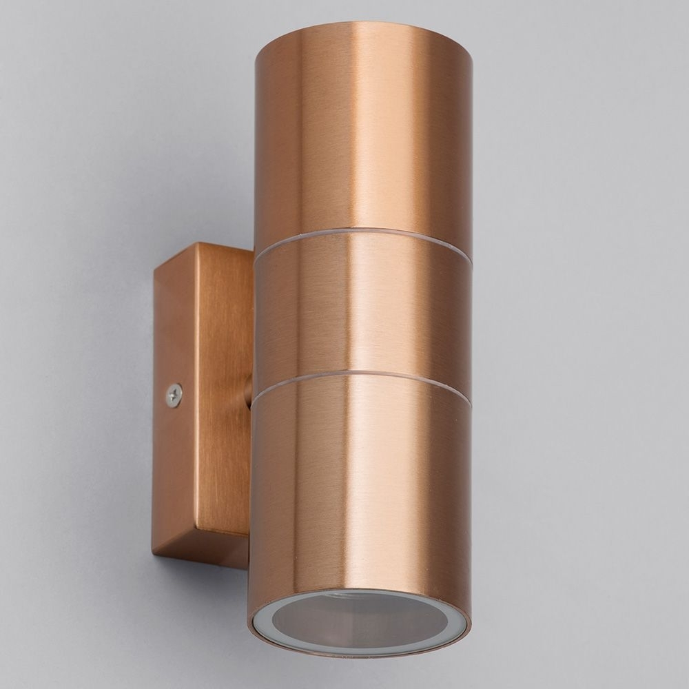 Kenn Up & Down Light Outdoor Wall Light – Copper From Litecraft For Widely Used Copper Outdoor Wall Lighting (View 9 of 20)