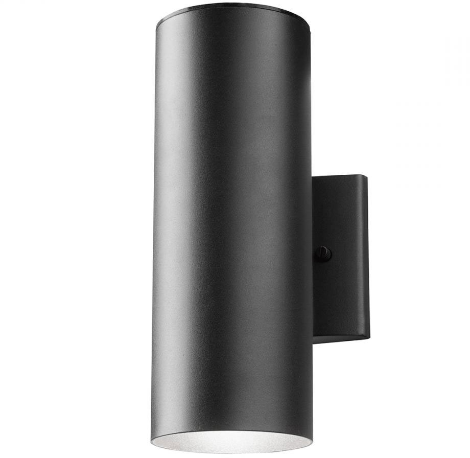 Kichler 11251Bkt30 Modern Textured Black Led Outdoor Sconce Lighting Within Recent Modern Outdoor Pendant Cylinder Lighting Fixtures (View 4 of 20)