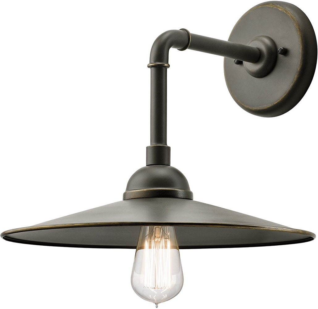 Kichler 49586oz Westington Vintage Olde Bronze Outdoor Wall Light Pertaining To 2019 Vintage Outdoor Ceiling Lights (View 15 of 20)