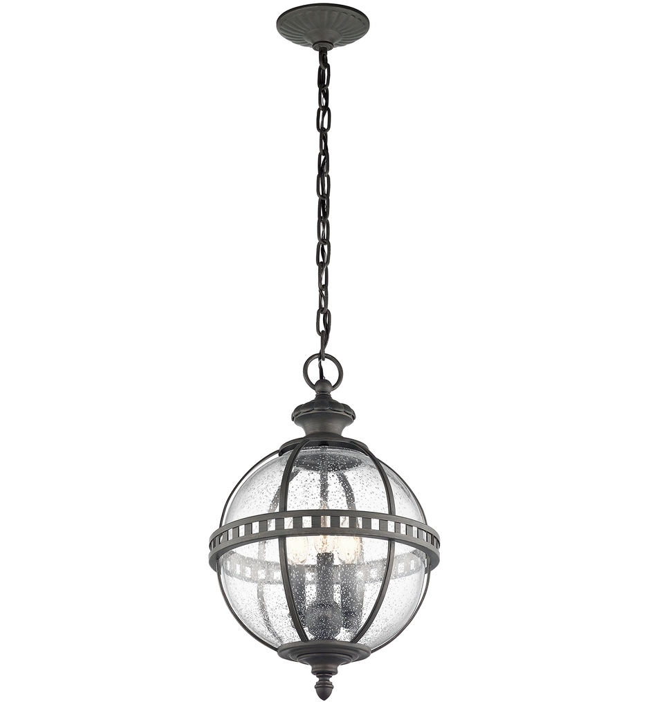 Kichler – 49603Ld – Halleron Londonderry 12 Inch 3 Light Outdoor Inside 2019 Outdoor Pendant Kichler Lighting (Gallery 19 of 20)