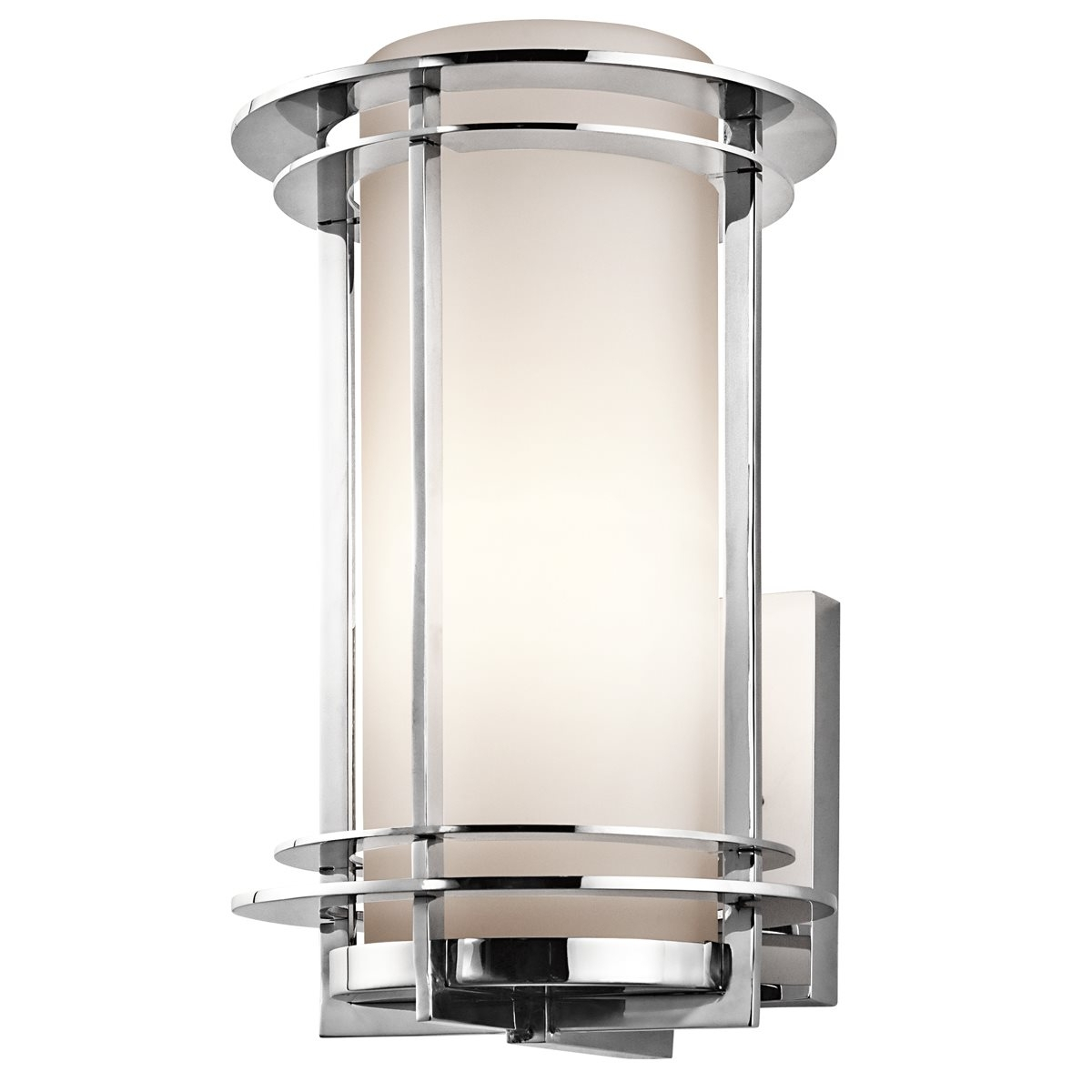 Kichler Lighting 49345Pss316 Pacific Edge Modern / Contemporary Throughout Well Liked Modern And Contemporary Outdoor Lighting Sconces (Gallery 5 of 20)