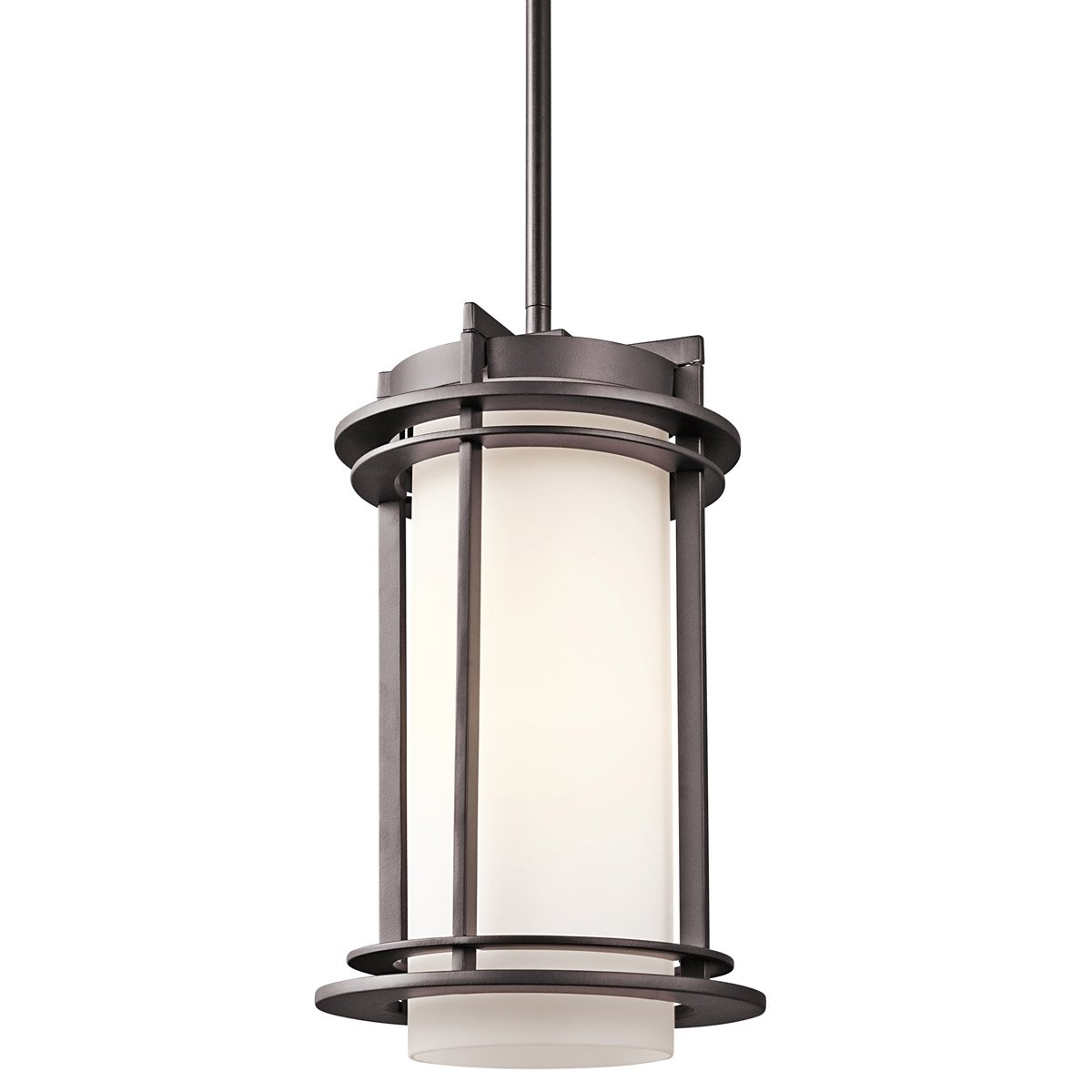 Kichler Lighting 49348Az Pacific Edge 1 Light 8 Inch Architectural Pertaining To Favorite Outdoor Pendant Kichler Lighting (View 4 of 20)