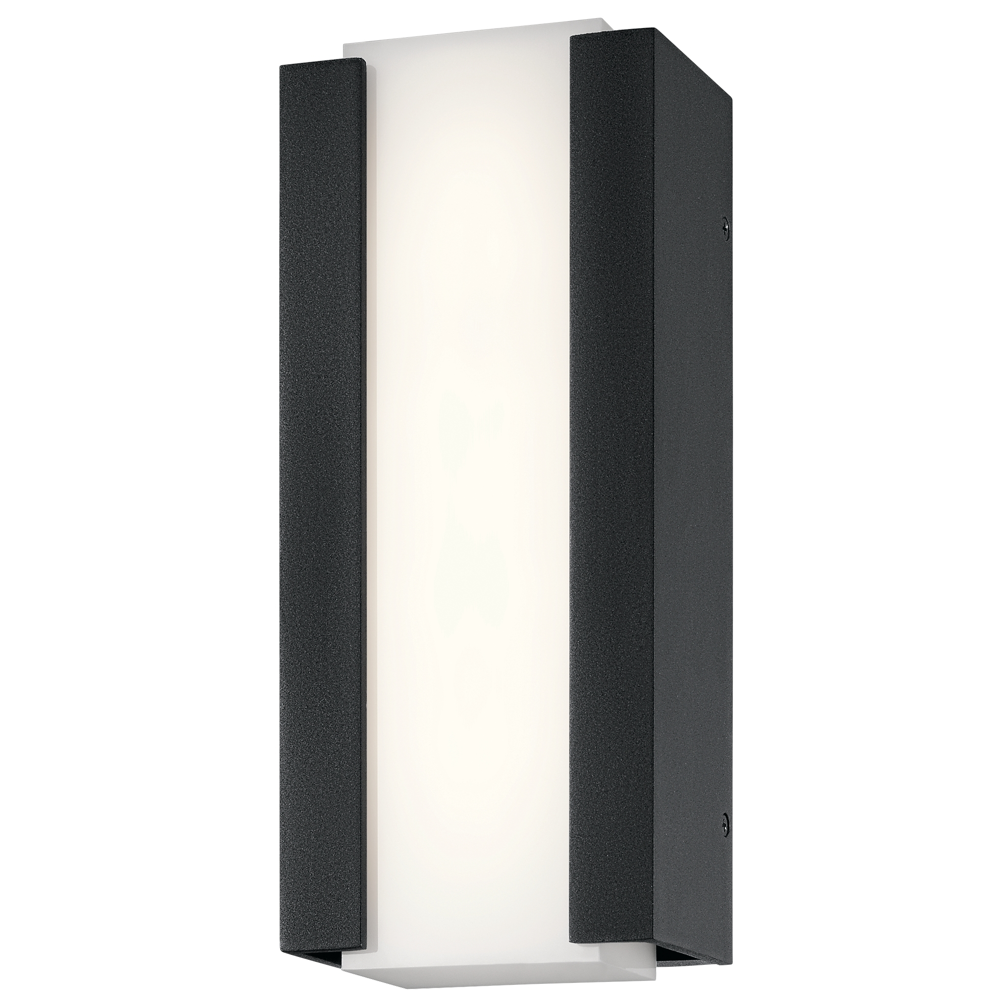 Kichler Lighting 49798Bktled Outdoor Wall Lighting – Ashton Intended For Most Recent Outdoor Wall Led Kichler Lighting (View 15 of 20)