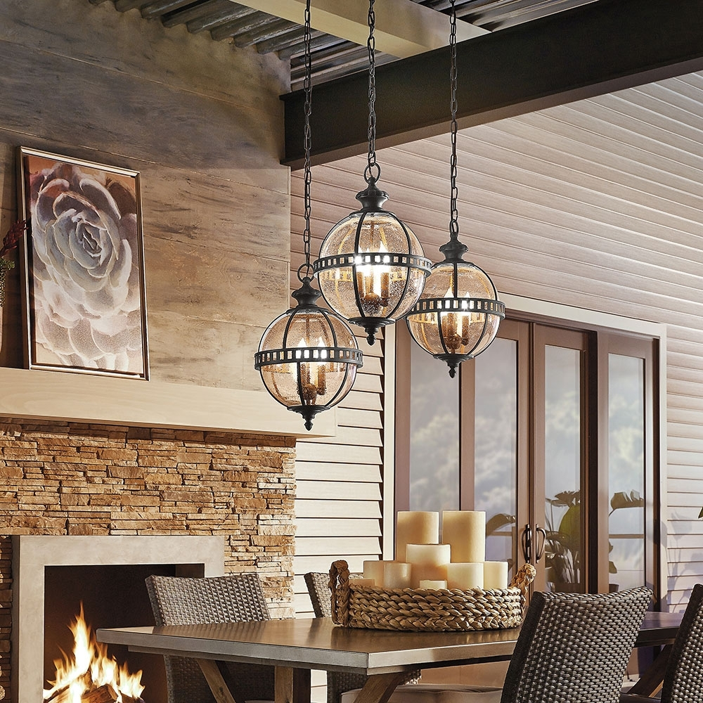Kichler Outdoor Ceiling Lights For Current Light Fixtures, Lighting Fixtures Inspirations (View 16 of 20)