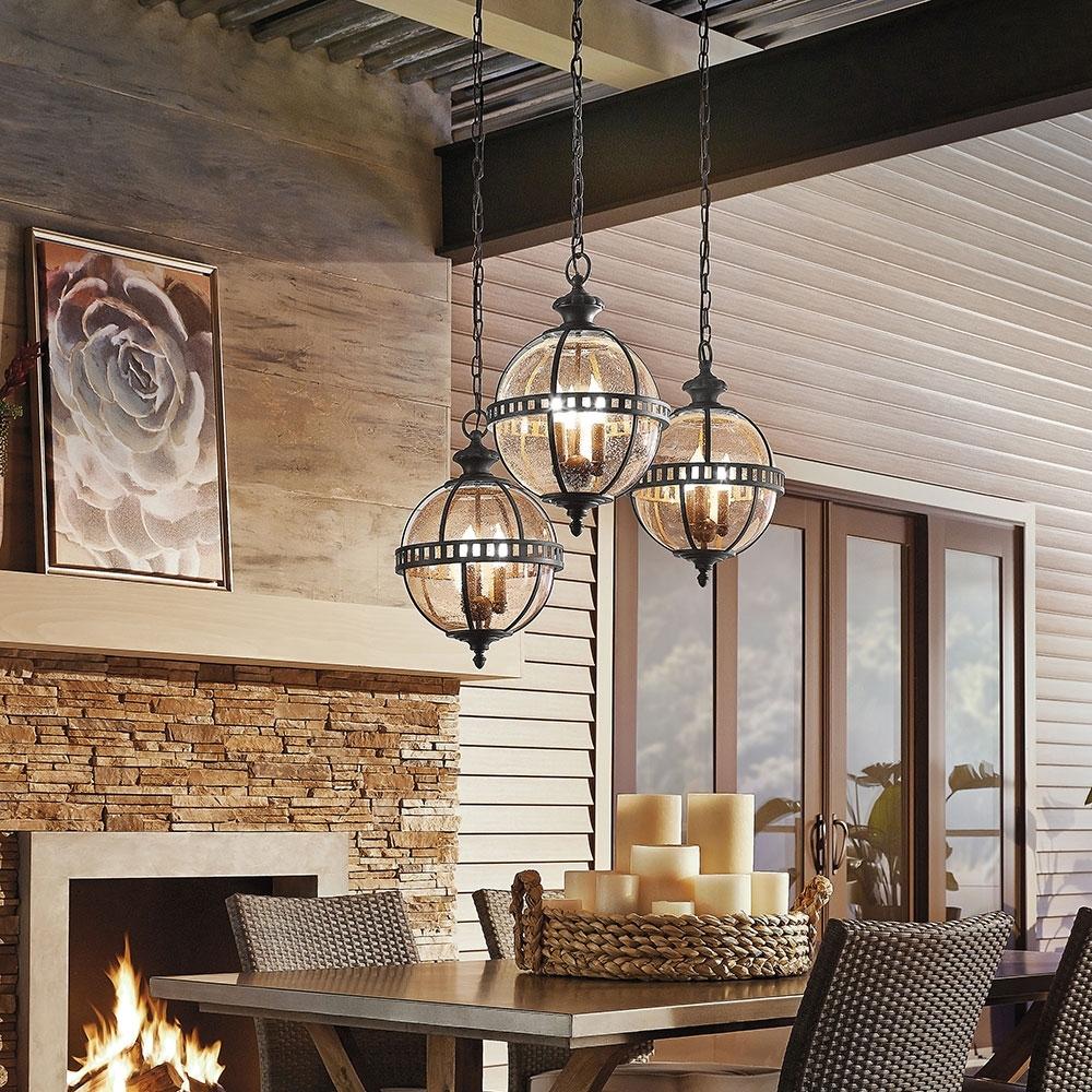 Kichler Outdoor Ceiling Lights For Current Light Fixtures, Lighting Fixtures Inspirations (Gallery 16 of 20)