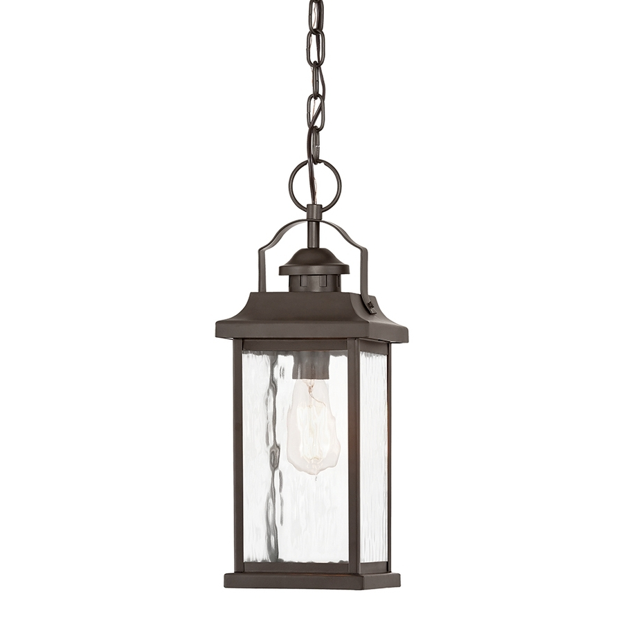 Kichler Outdoor Ceiling Lights With Regard To Preferred Shop Kichler Linford 6.5 In Olde Bronze Vintage Single Clear Glass (Gallery 1 of 20)