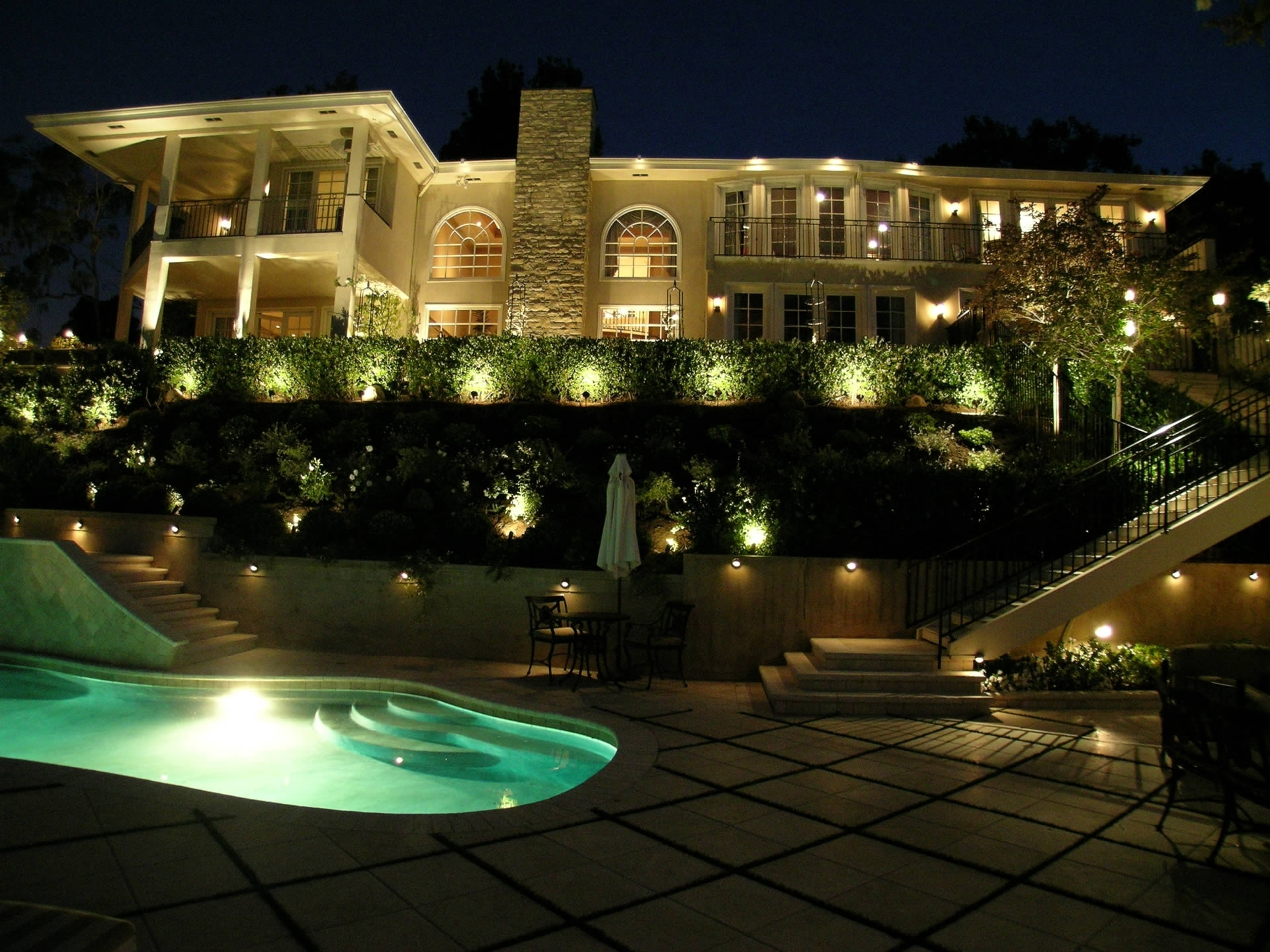 Kichler Outdoor Landscape Lighting With Most Up To Date This Landscape Looks Really Great (View 10 of 20)