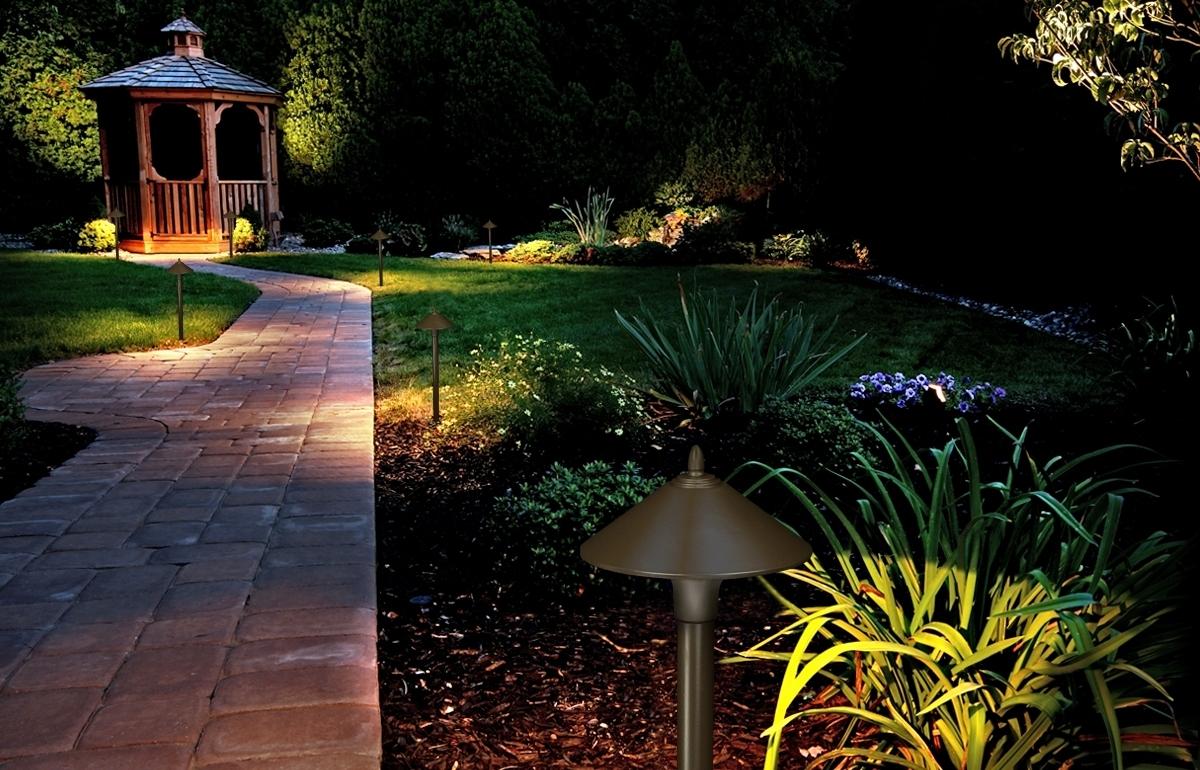 Kichler Outdoor Landscape Lighting With Recent 20 Luxury Kichler Outdoor Landscape Lighting (View 20 of 20)