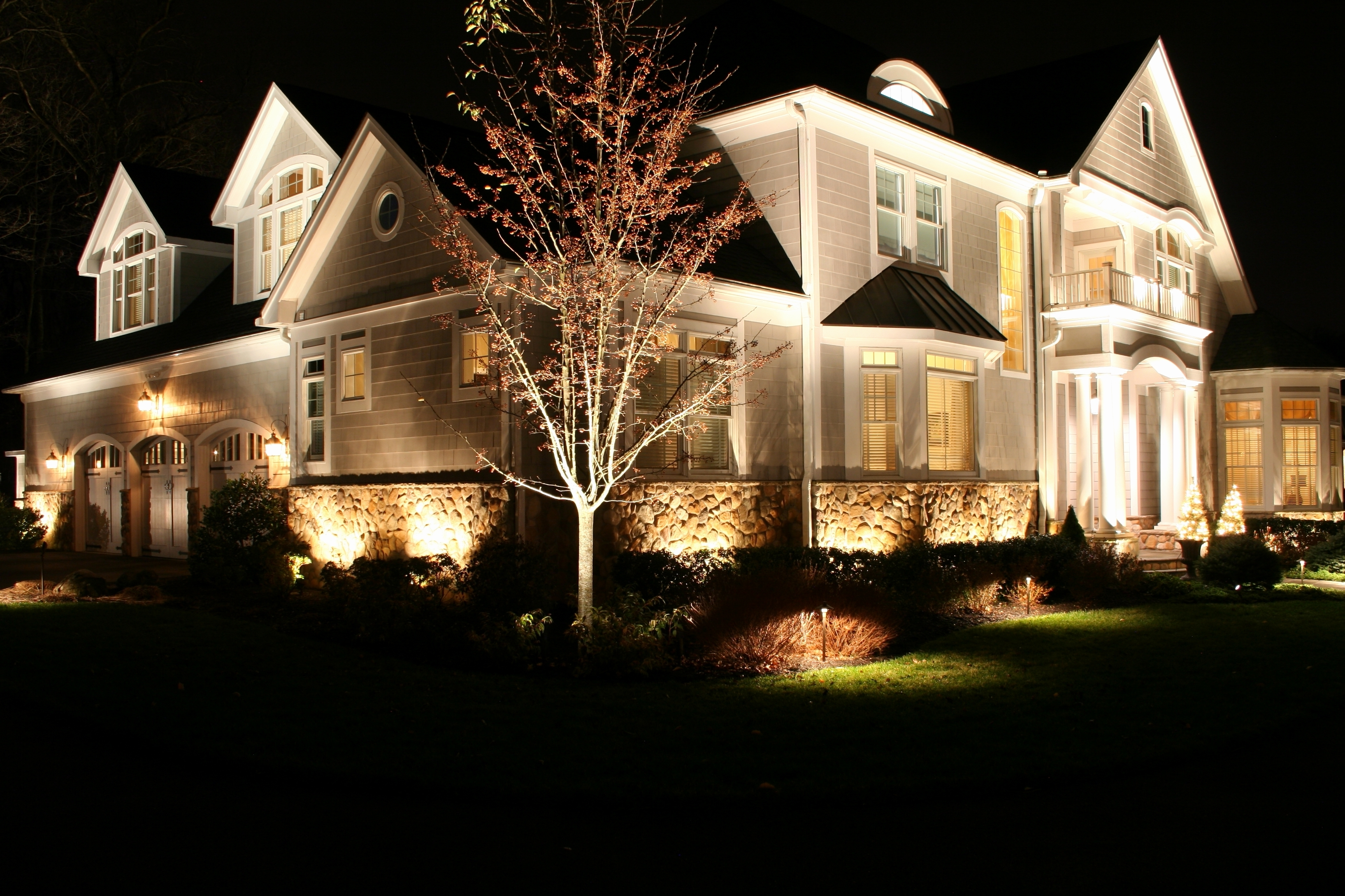 Kichler Outdoor Landscape Lighting (Gallery 9 of 20)