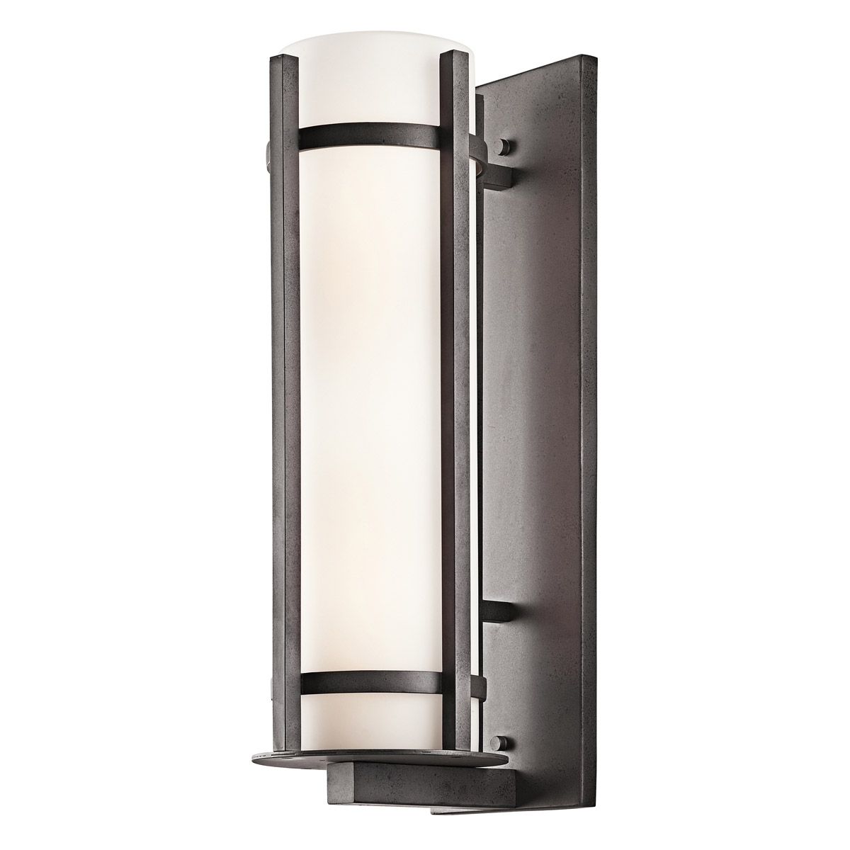 Kichler Outdoor Lighting Wall Sconces Inside Most Popular 49121avi Camden Outdoor Wall Sconce (View 9 of 20)
