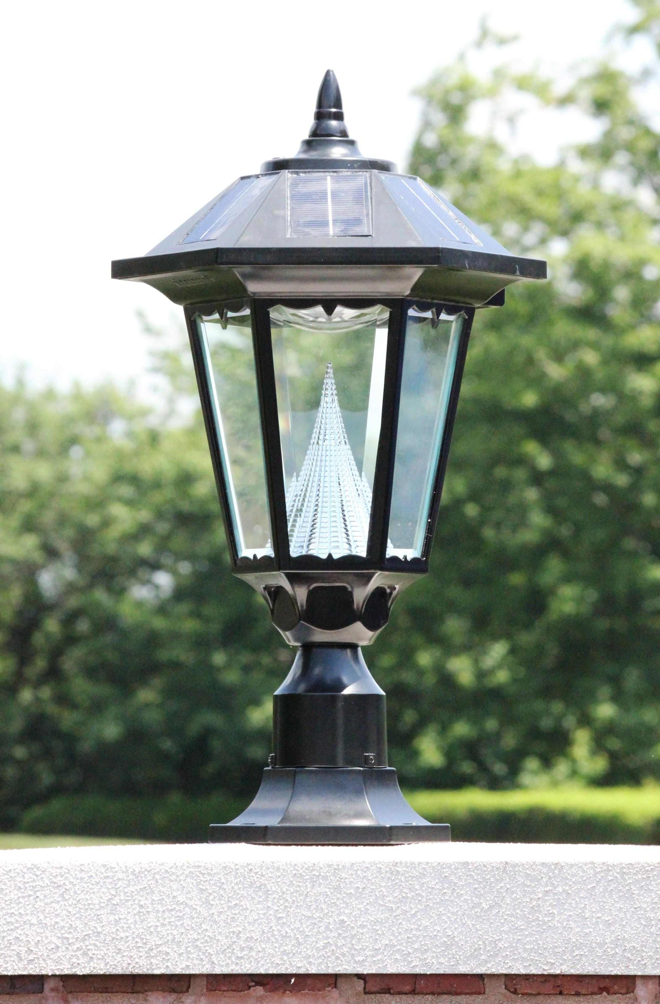 Lamp: Home Lighting Spectacular Outdoor Flood Lights Home Depot Throughout Most Current Solar Driveway Lights At Home Depot (View 18 of 20)