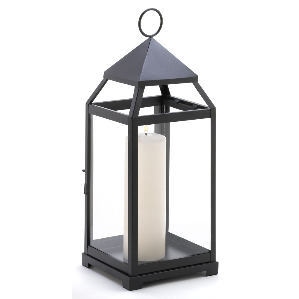 Large Contemporary Candle Lantern Wholesale At Koehler Home Decor In Current Outdoor Hanging Metal Lanterns (Gallery 3 of 20)