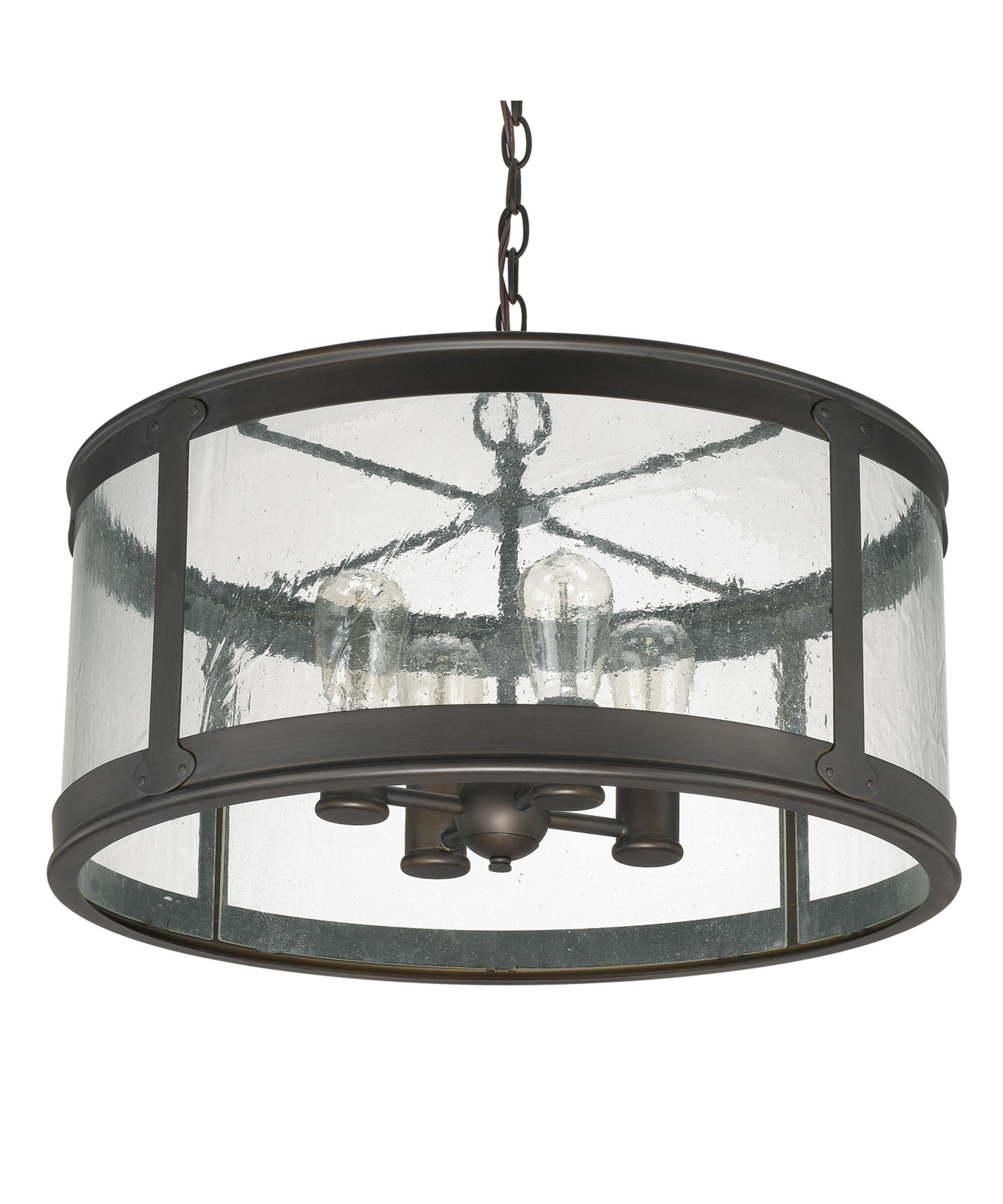 Large Outdoor Ceiling Lights For Recent Capital Lighting 9568 Dylan 22 Inch Wide 4 Light Large Pendant (Gallery 5 of 20)