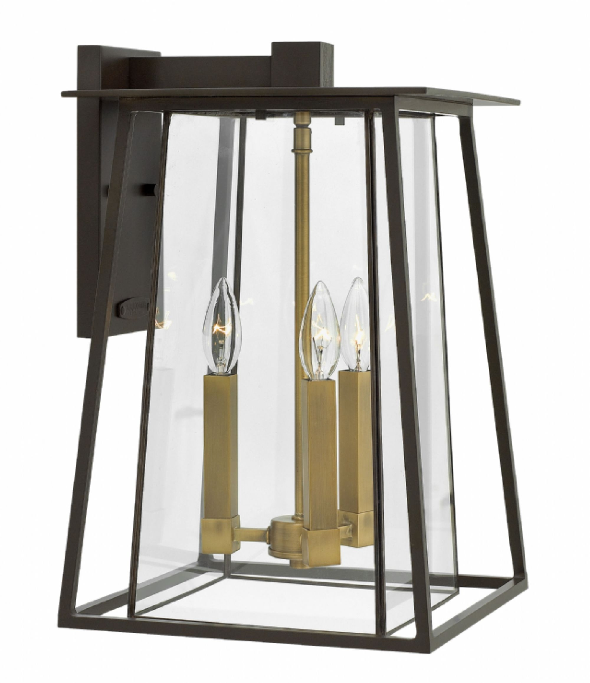 Large Wall Mount Hinkley Lighting For Well Known Buckeye Bronze Walker > Exterior Wall Mount (View 9 of 20)