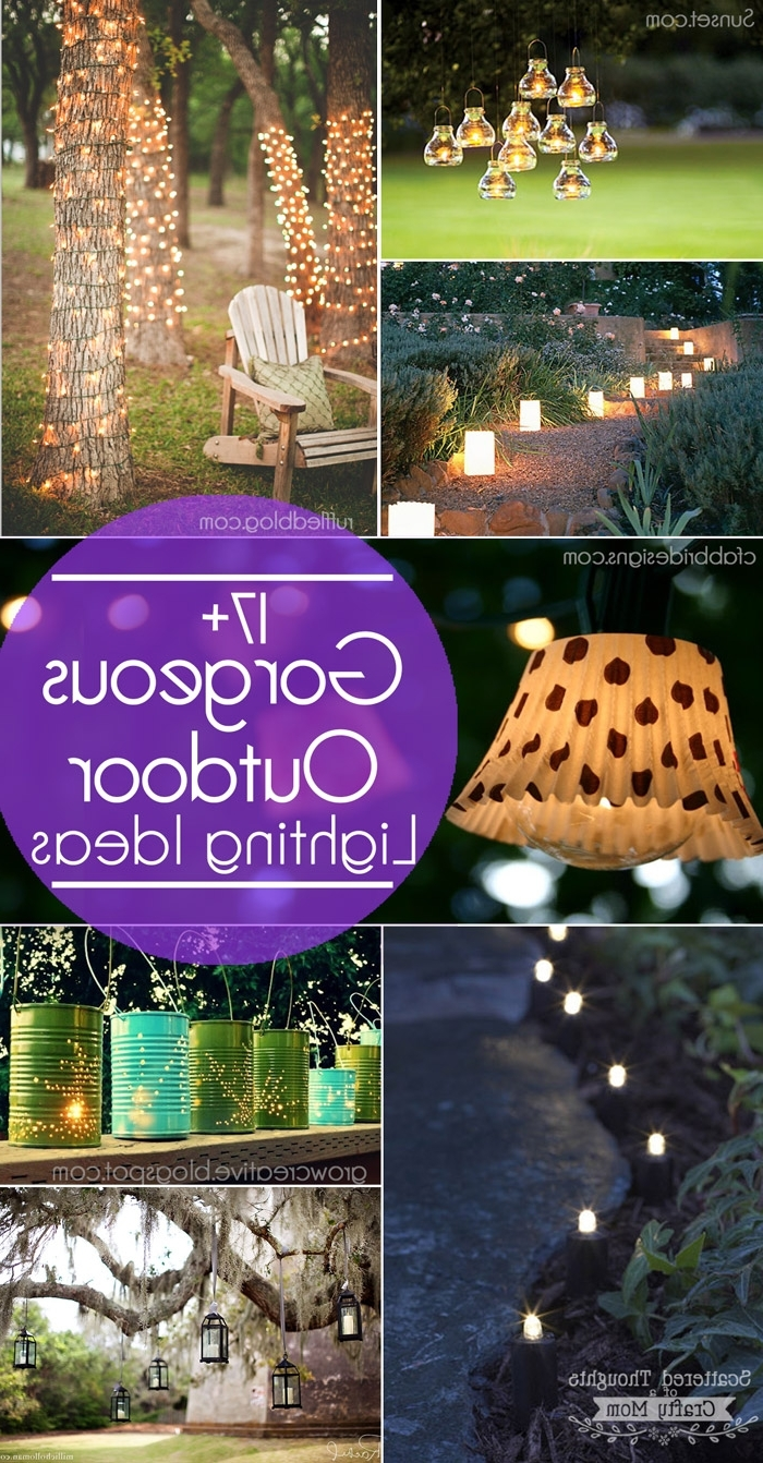 Latest 17+ Outdoor Lighting Ideas For The Garden – Scattered Thoughts Of A Intended For Outdoor Hanging Garden Lanterns (View 10 of 20)
