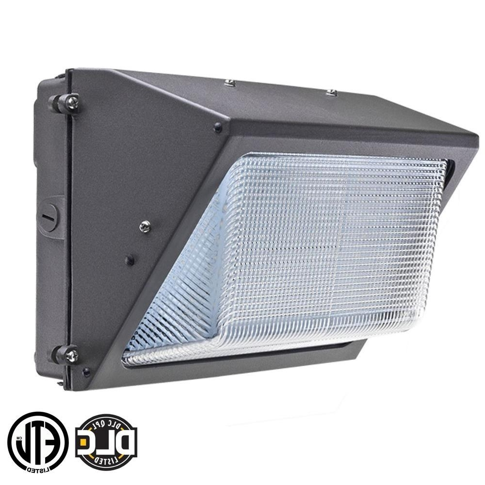 Latest Axis Led Lighting 90 Watt Bronze 5000K Led Outdoor Wall Pack With Within Outdoor Wall Led Lighting (View 19 of 20)