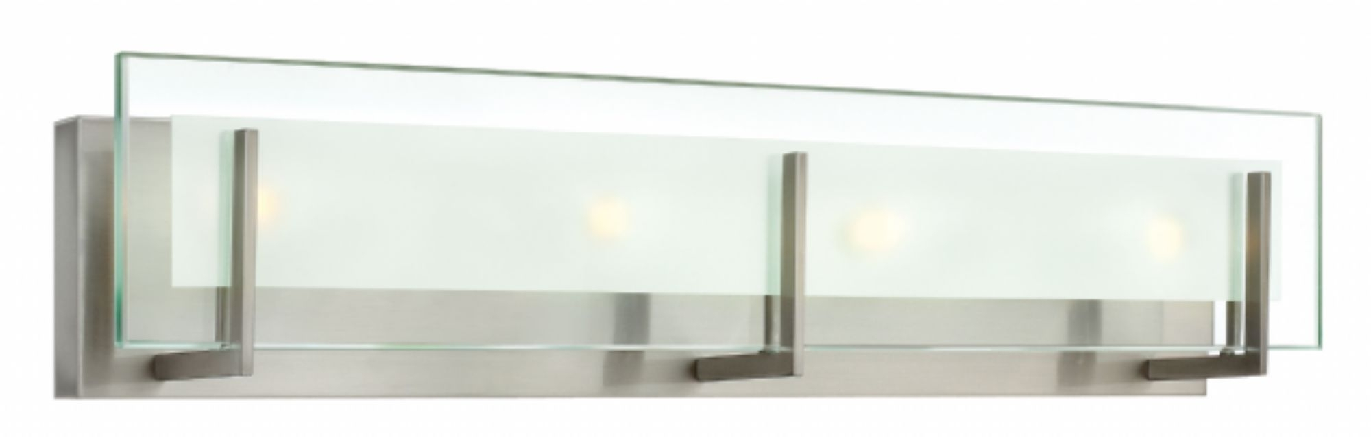 Latest Brushed Nickel Latitude > Interior Wall Mount Regarding Contemporary Hinkley Lighting (View 8 of 20)