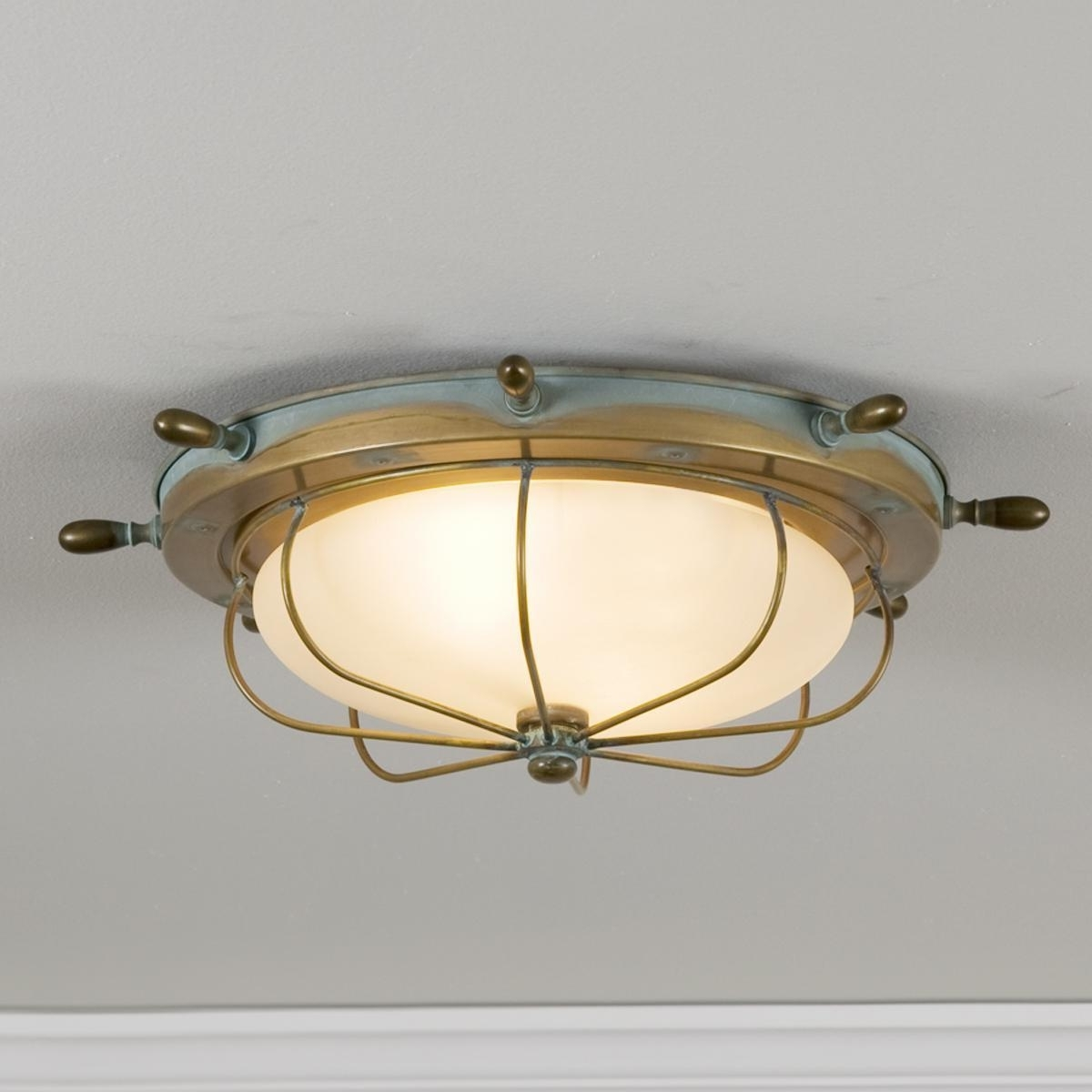 Latest Captain's Ceiling Light (View 7 of 20)