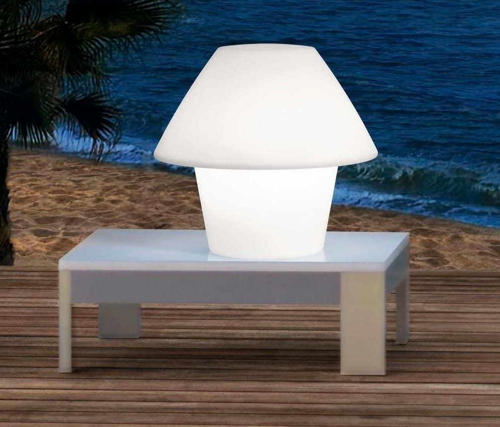 Latest Exciting Diy Solar Table Lamp Lamps Powered Outdooror Living Room Within Modern Outdoor Solar Lights At Target (View 16 of 20)