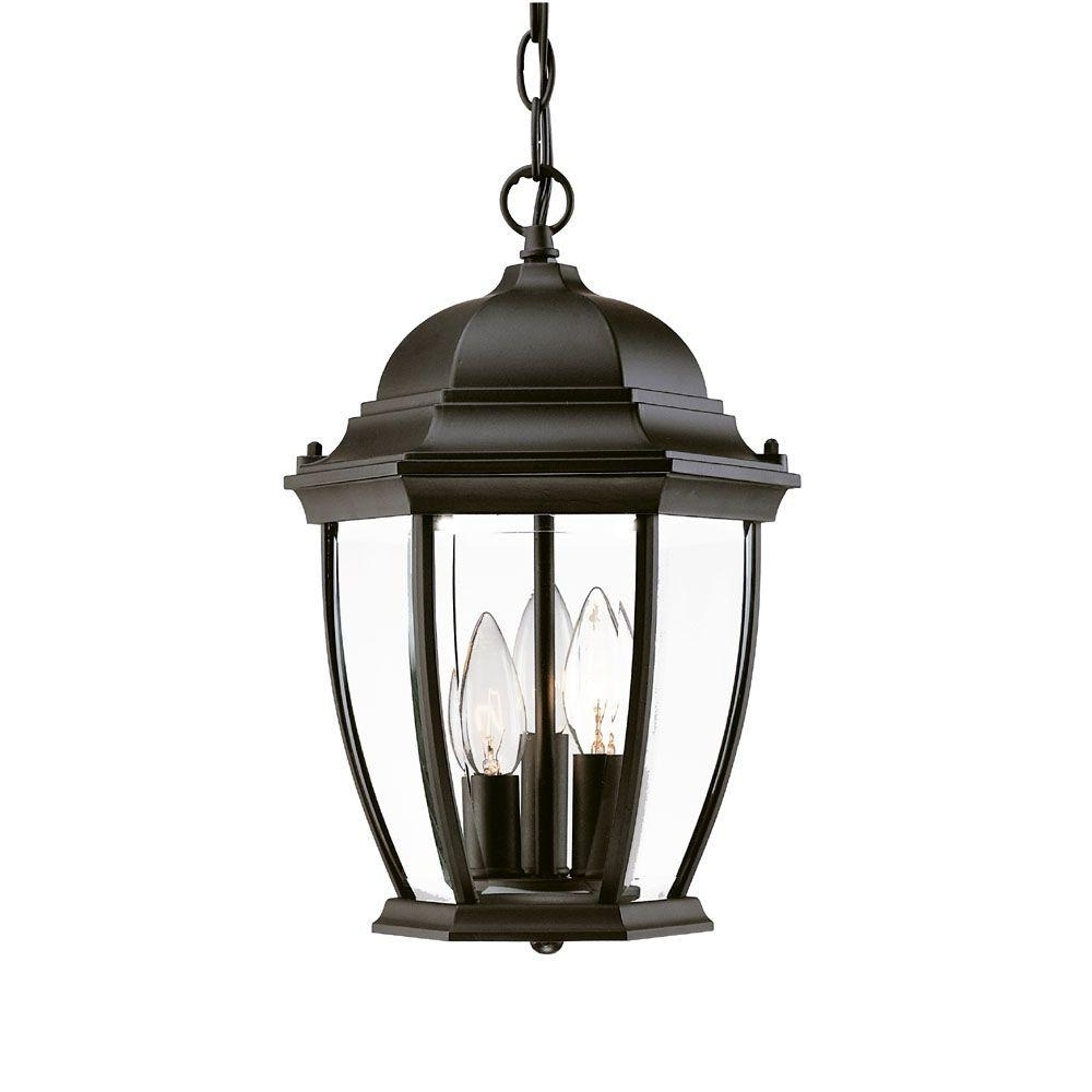 Latest Large Outdoor Hanging Pendant Lights Throughout Acclaim Lighting Wexford Collection Hanging Lantern 3 Light Outdoor (View 10 of 20)