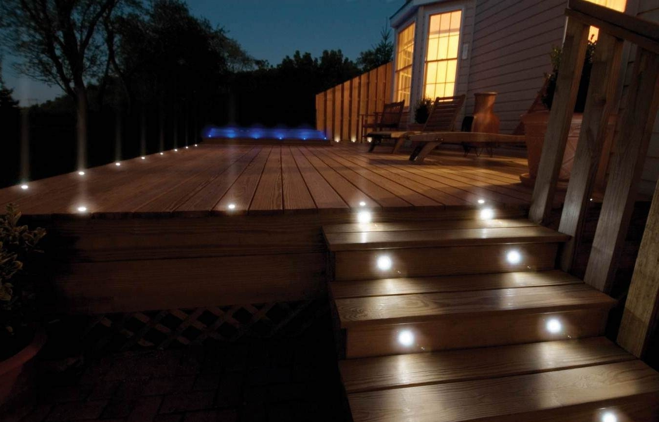 Latest Modern Low Voltage Deck Lighting With Modern Outdoor Deck Lighting Ideas Pictures : Kimberly Porch And (View 9 of 20)