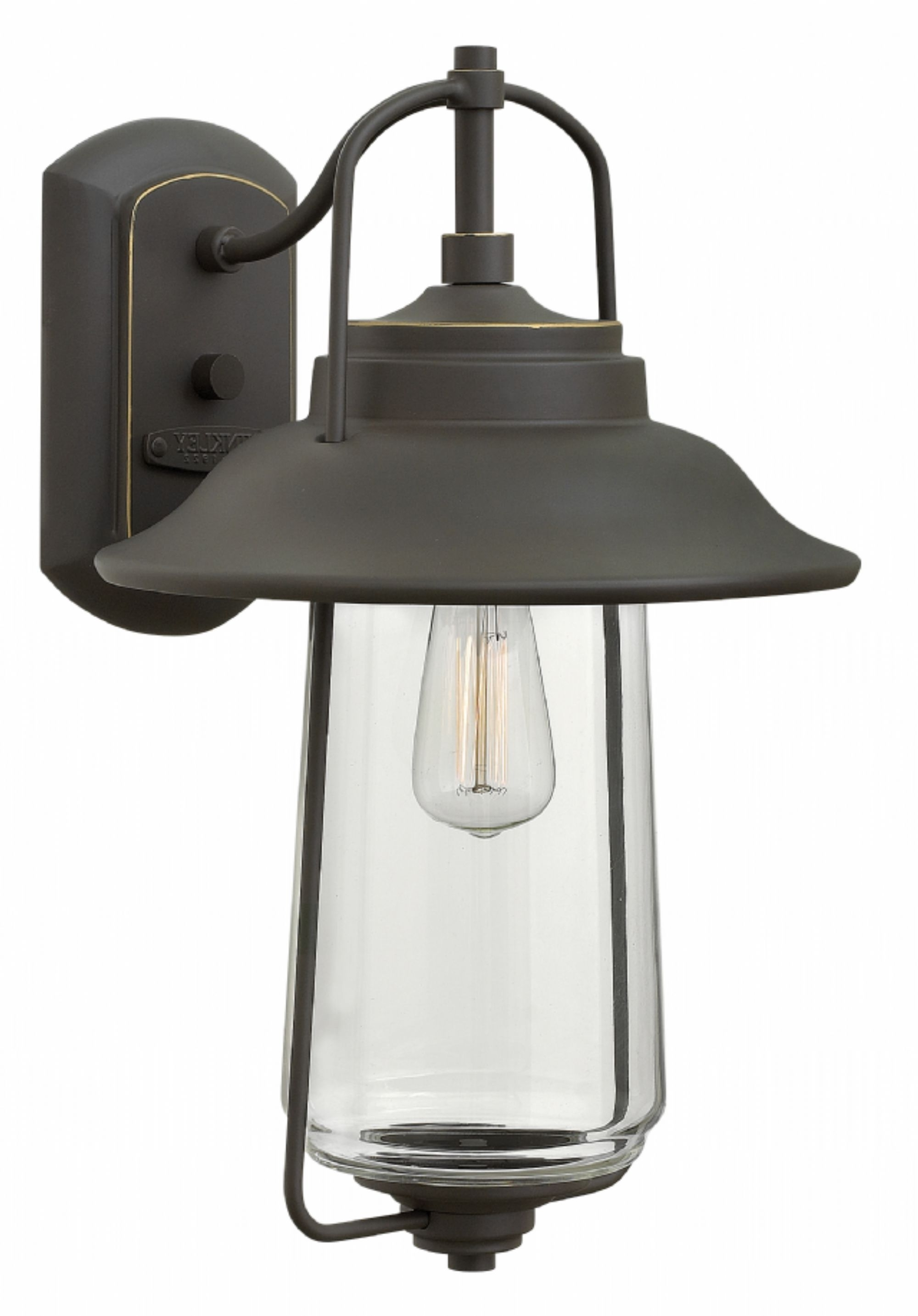Latest Oil Rubbed Bronze Belden Place > Exterior Wall Mount Regarding Modern Latern Hinkley Lighting (View 3 of 20)