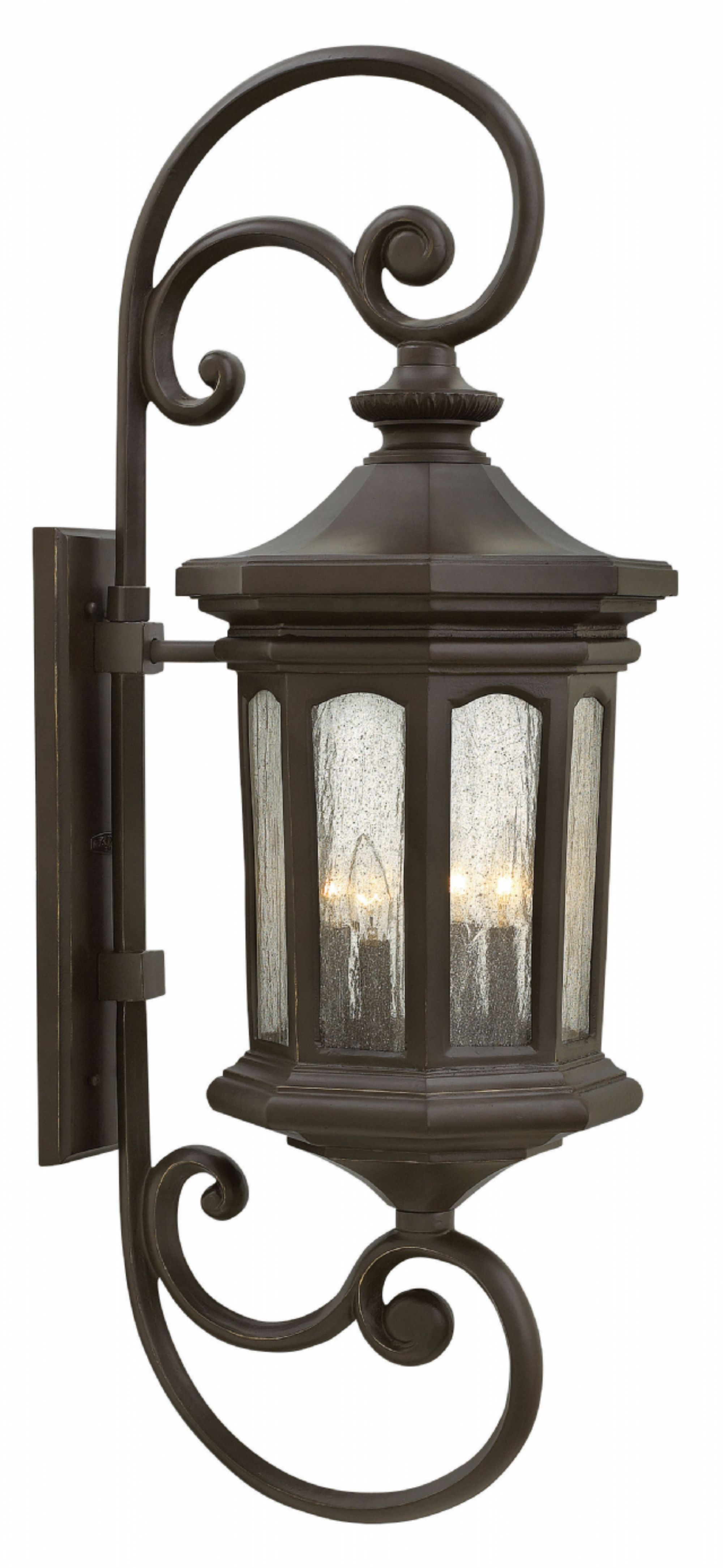 Latest Oil Rubbed Bronze Raley > Exterior Wall Mount Within Large Wall Mount Hinkley Lighting (View 7 of 20)