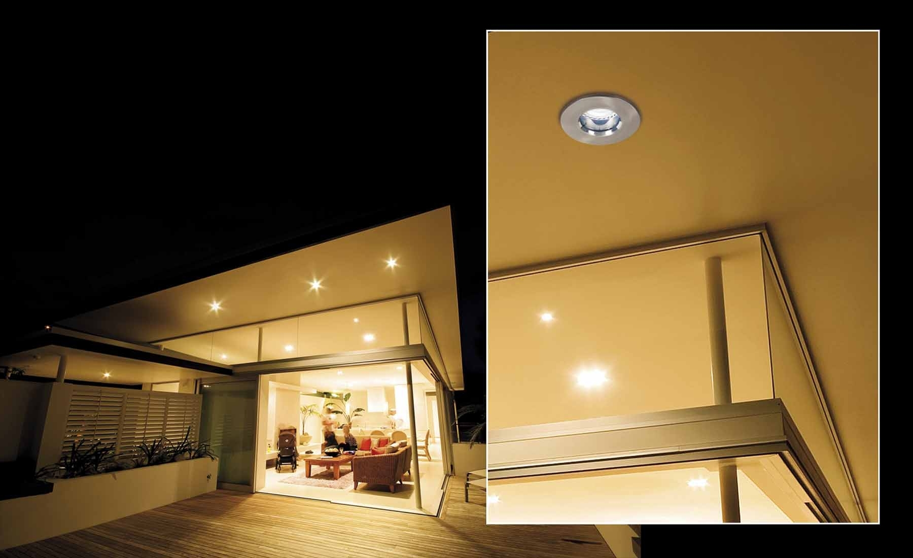 Latest Outdoor Ceiling Downlights Regarding Outdoor Led Recessed Lighting – Outdoor Designs (Gallery 1 of 20)