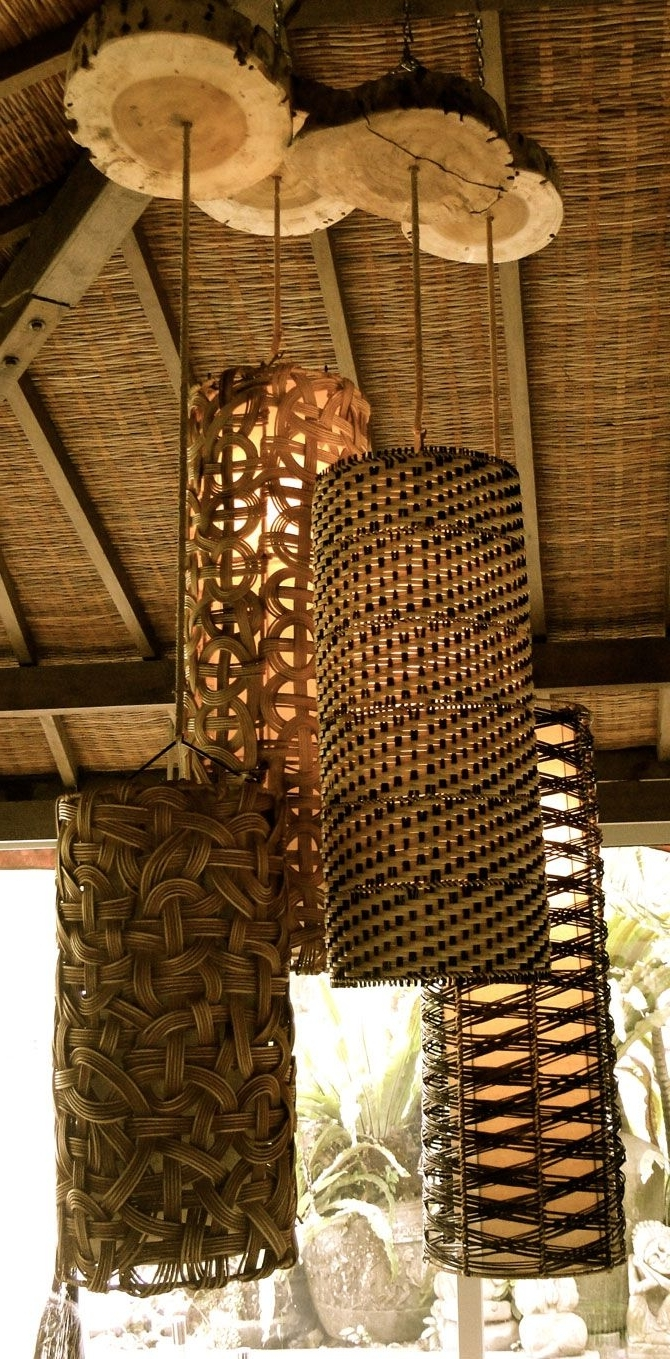 Latest Outdoor Hanging Basket Lights With Bali: An Exciting Place For Furniture, Carvings, Lighting & Good (View 19 of 20)