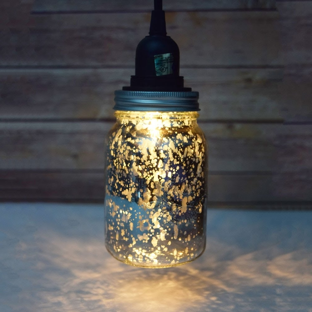 Latest Outdoor Hanging Mason Jar Lights With Diy Mason Jar Pendant Light Kit – Youtube (View 5 of 20)