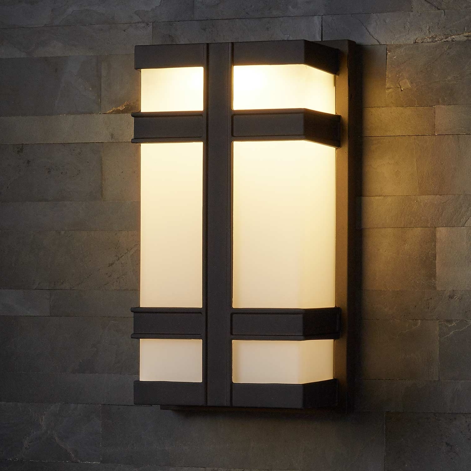 Latest Payne Outdoor 2 Led Light Entrance Wall Sconce – Outdoor For Outdoor Wall Sconce Led Lights (View 8 of 20)