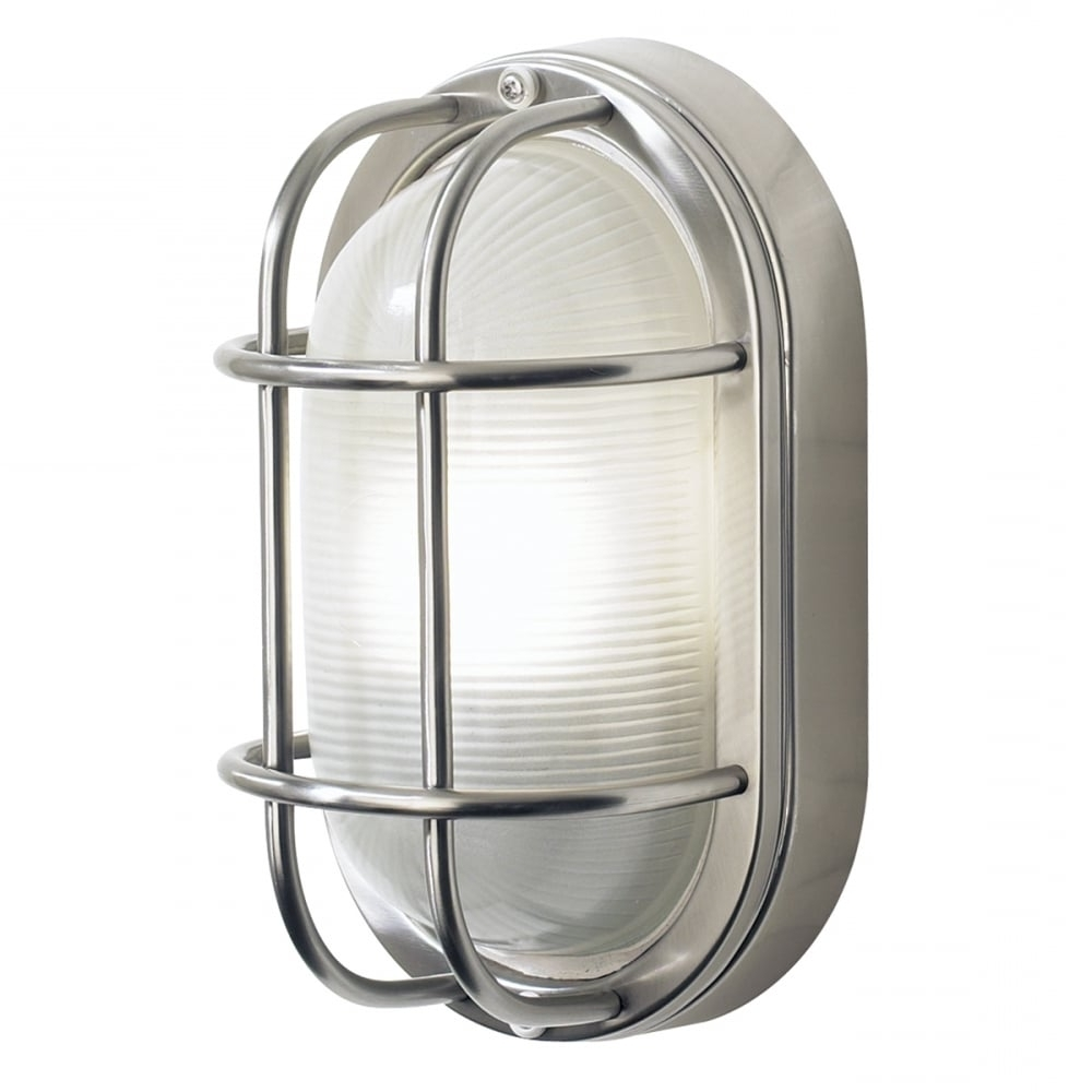 Latest Salcombe Stainless Steel Ip44 Garden Wall Light Regarding Stainless Steel Outdoor Wall Lights (View 8 of 20)