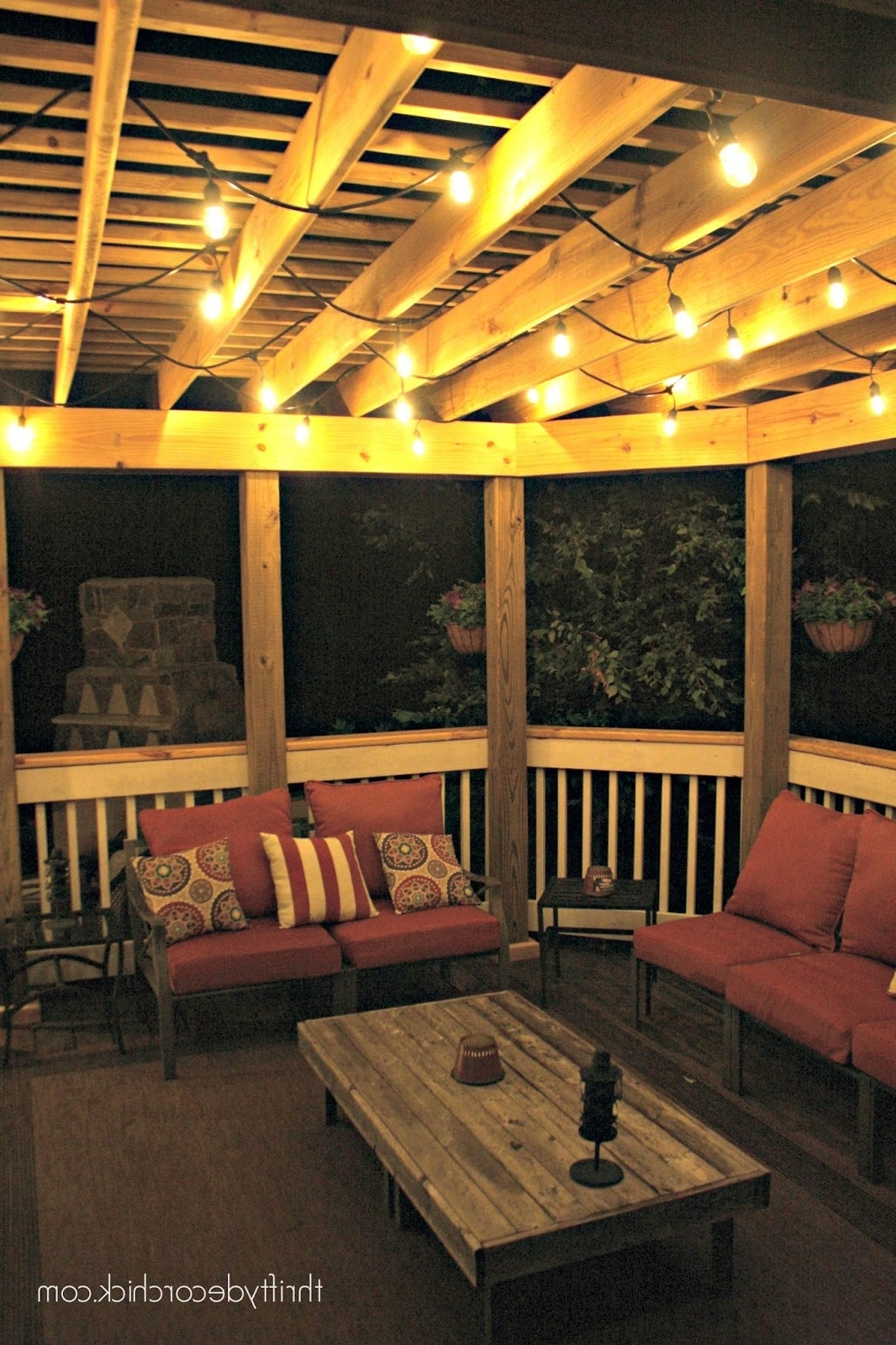 Latest The Best Outdoor Lights From Thrifty Decor Chick Regarding Hanging Outdoor String Lights At Costco (View 4 of 20)