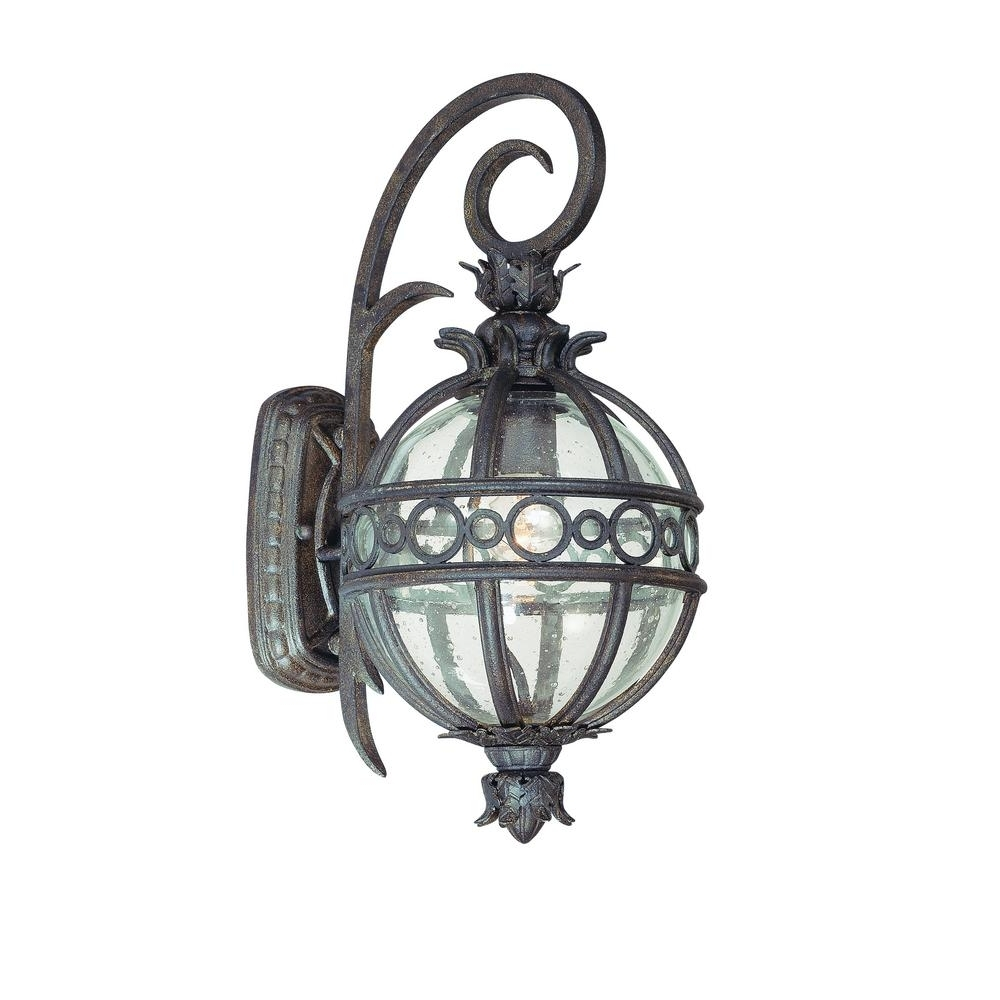 Latest Troy Lighting Campanile Bronze Outdoor Wall Mount Lantern B5001Cb In Tropical Outdoor Wall Lighting (View 7 of 20)