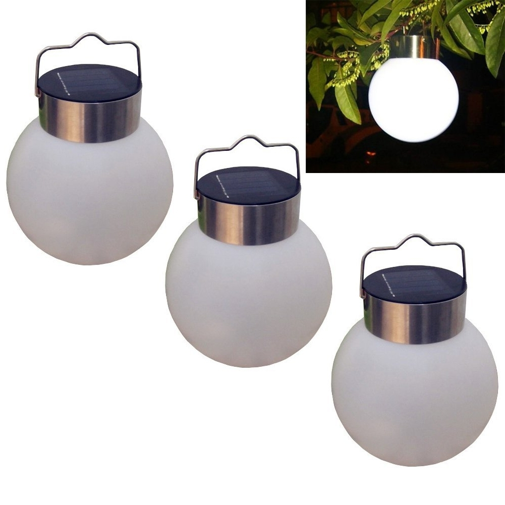 Led Outdoor Hanging Lights Inside Well Liked Led Solar Hanging Light Outdoor Garden Decoration Lantern (View 3 of 20)