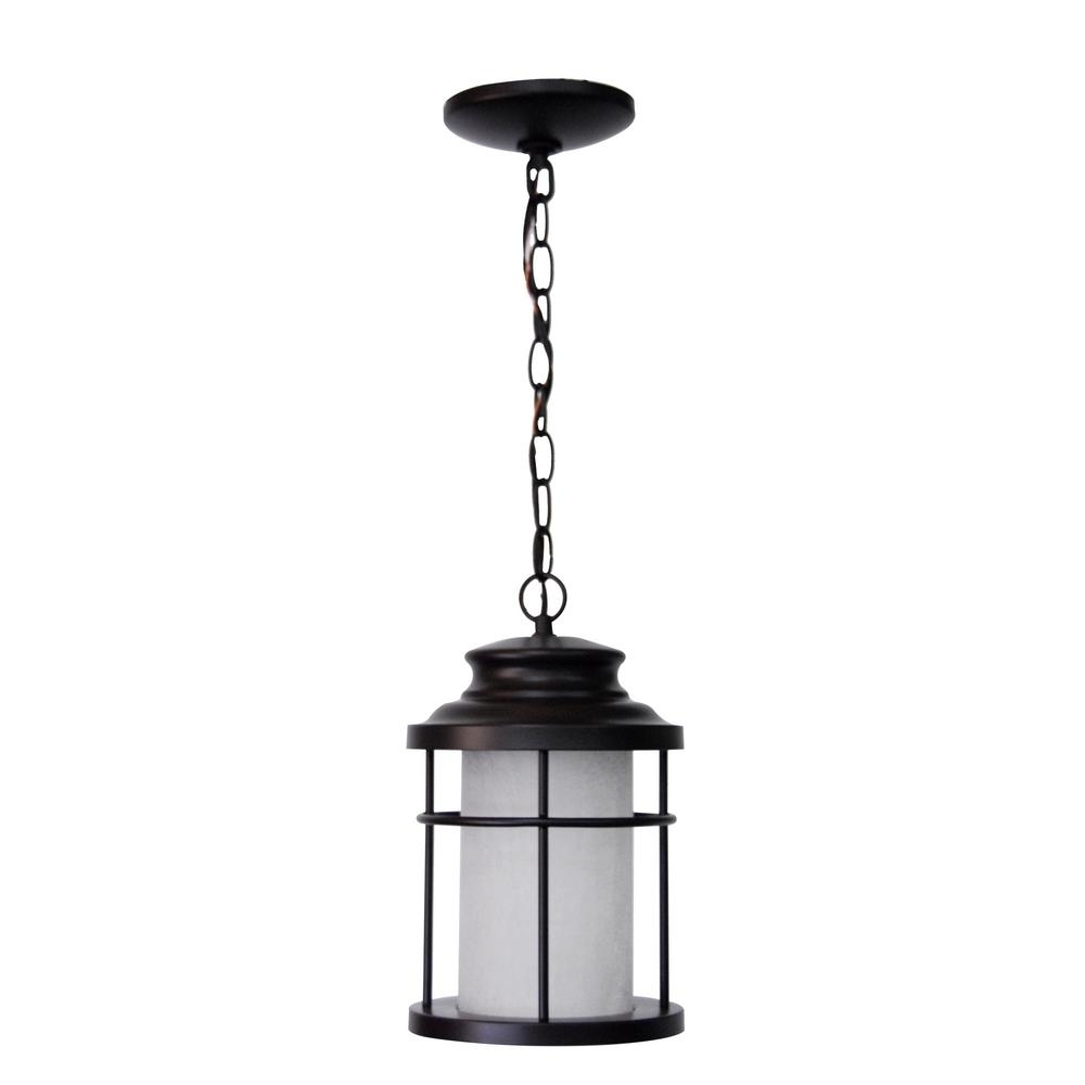 Led Outdoor Hanging Lights With Regard To Fashionable Home Decorators Collection – Outdoor Hanging Lights – Outdoor (View 11 of 20)