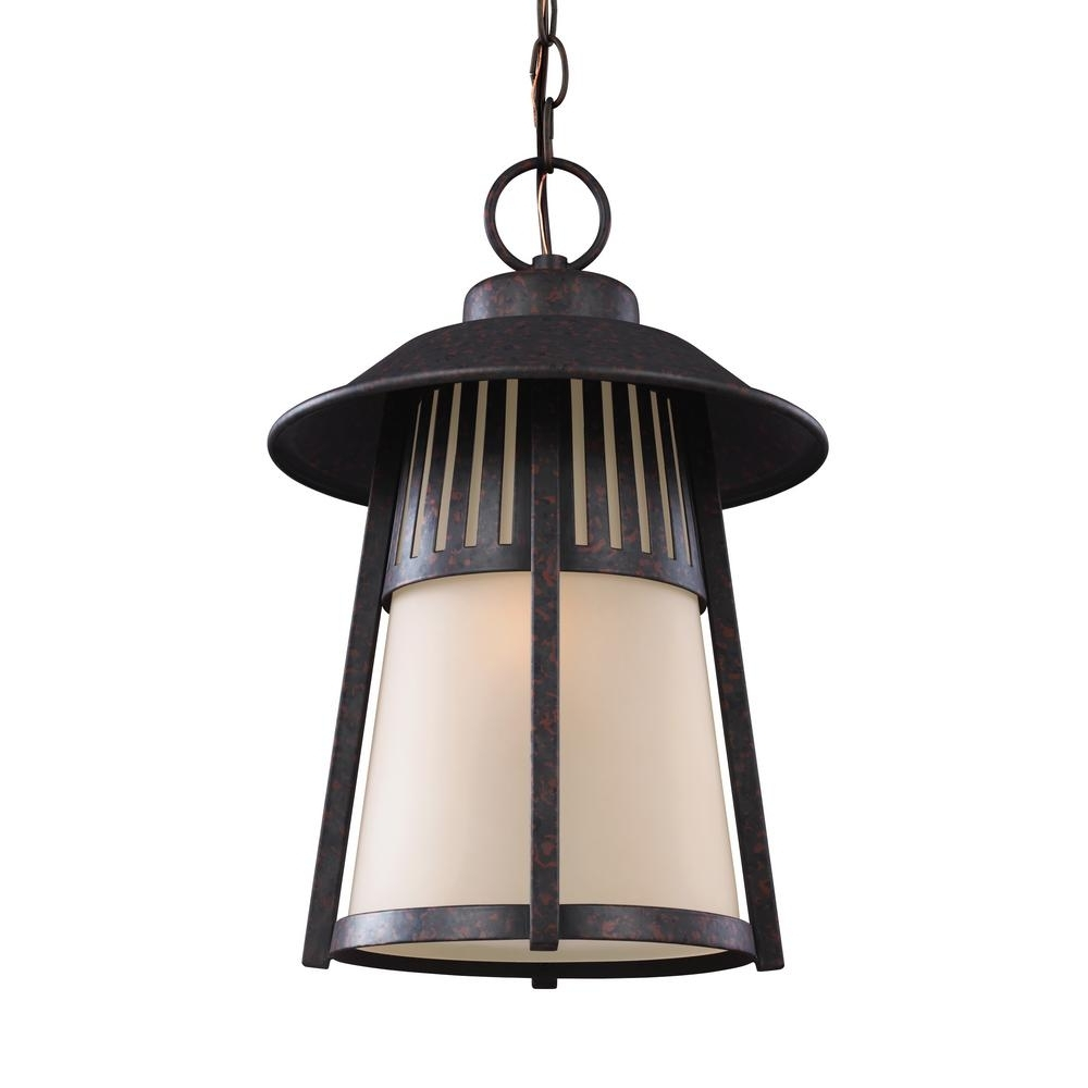 Led Outdoor Hanging Lights Within Most Recently Released Battery – Outdoor Hanging Lights – Outdoor Ceiling Lighting – The (View 16 of 20)