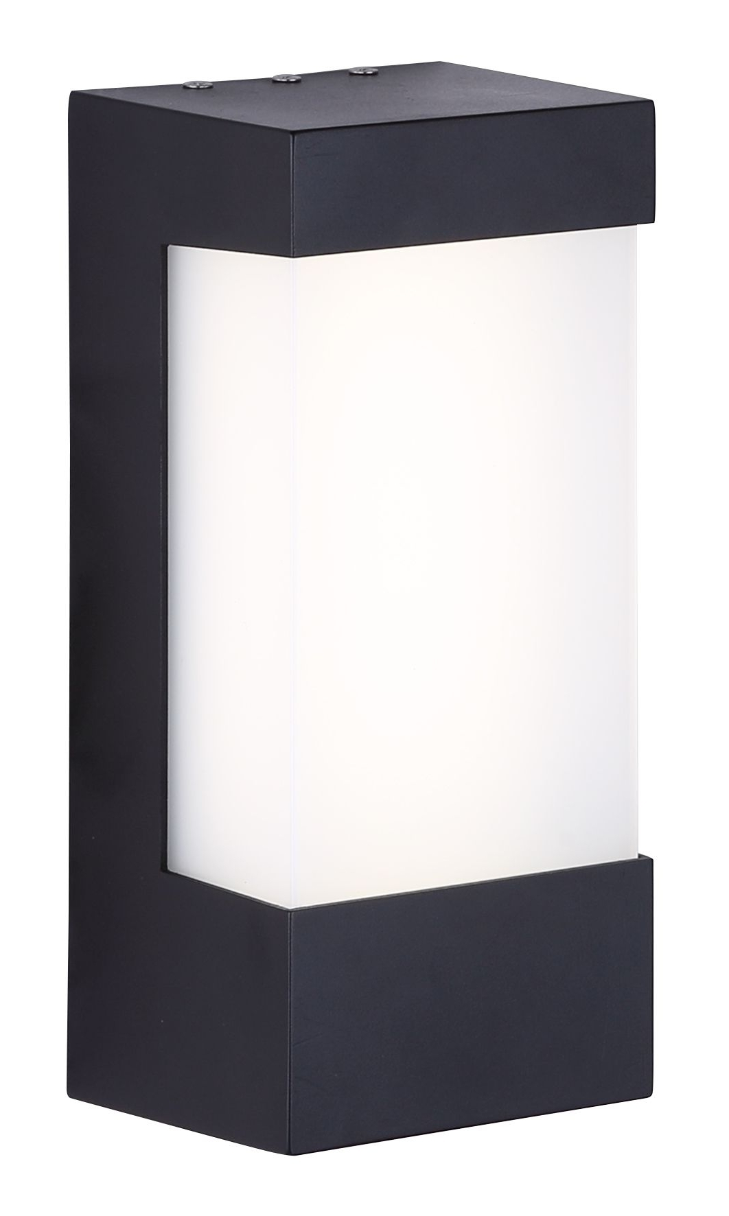 Led Outdoor Plastic Outdoor Wall Light Brwl Sq6W N Bk (View 6 of 20)