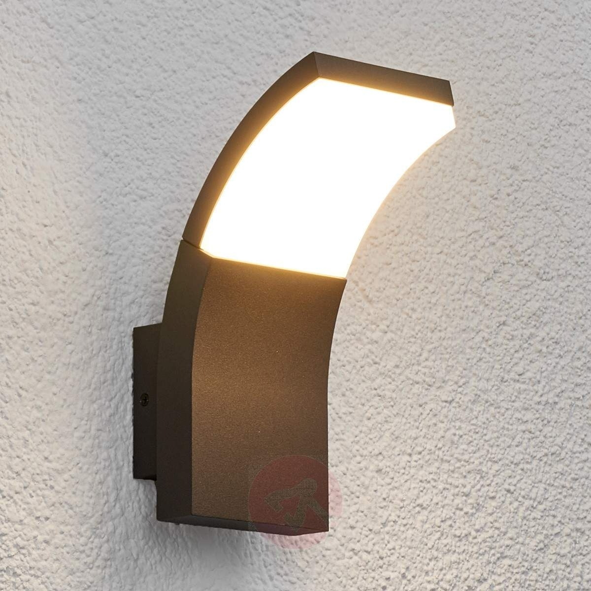 Led Outdoor Wall Lighting Inside Well Known Led Outdoor Wall Light Timm (View 7 of 20)