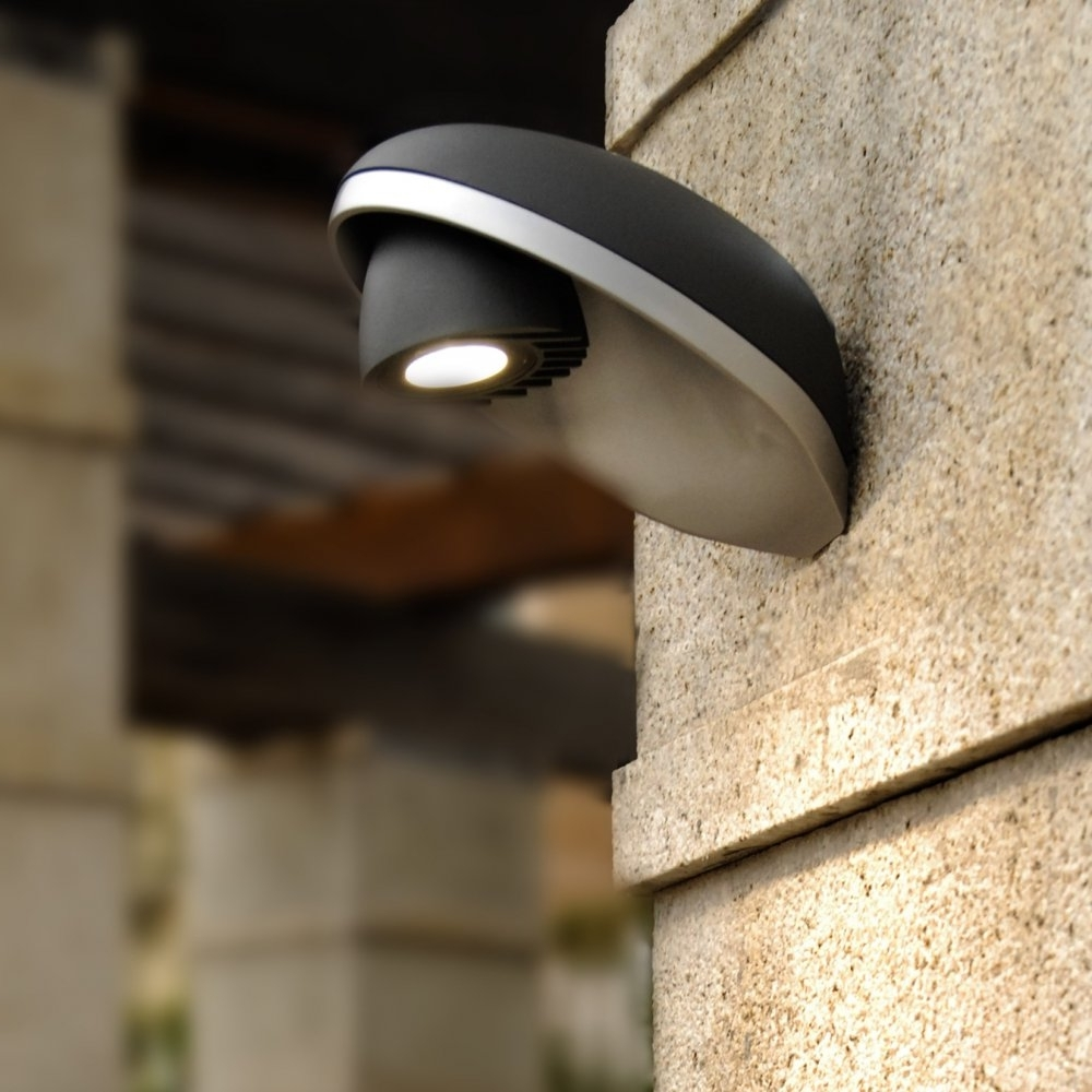 Led Outdoor Wall Lights With Photocell Intended For Widely Used Outdoor Lighting: Astounding Outdoor Wall Light Photocell Motion (View 11 of 20)
