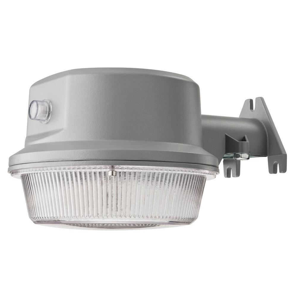 Led Wall Mount Outdoor Lithonia Lighting In Fashionable Lithonia Lighting Gray Outdoor Integrated Led 4000K Area Light With (View 3 of 20)
