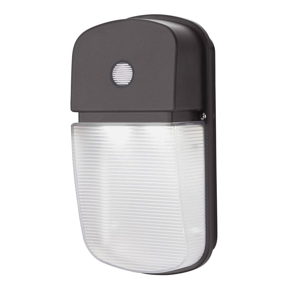 Led Wall Mount Outdoor Lithonia Lighting In Preferred Lithonia Lighting Dusk To Dawn Bronze Outdoor Integrated Led Wall (View 5 of 20)
