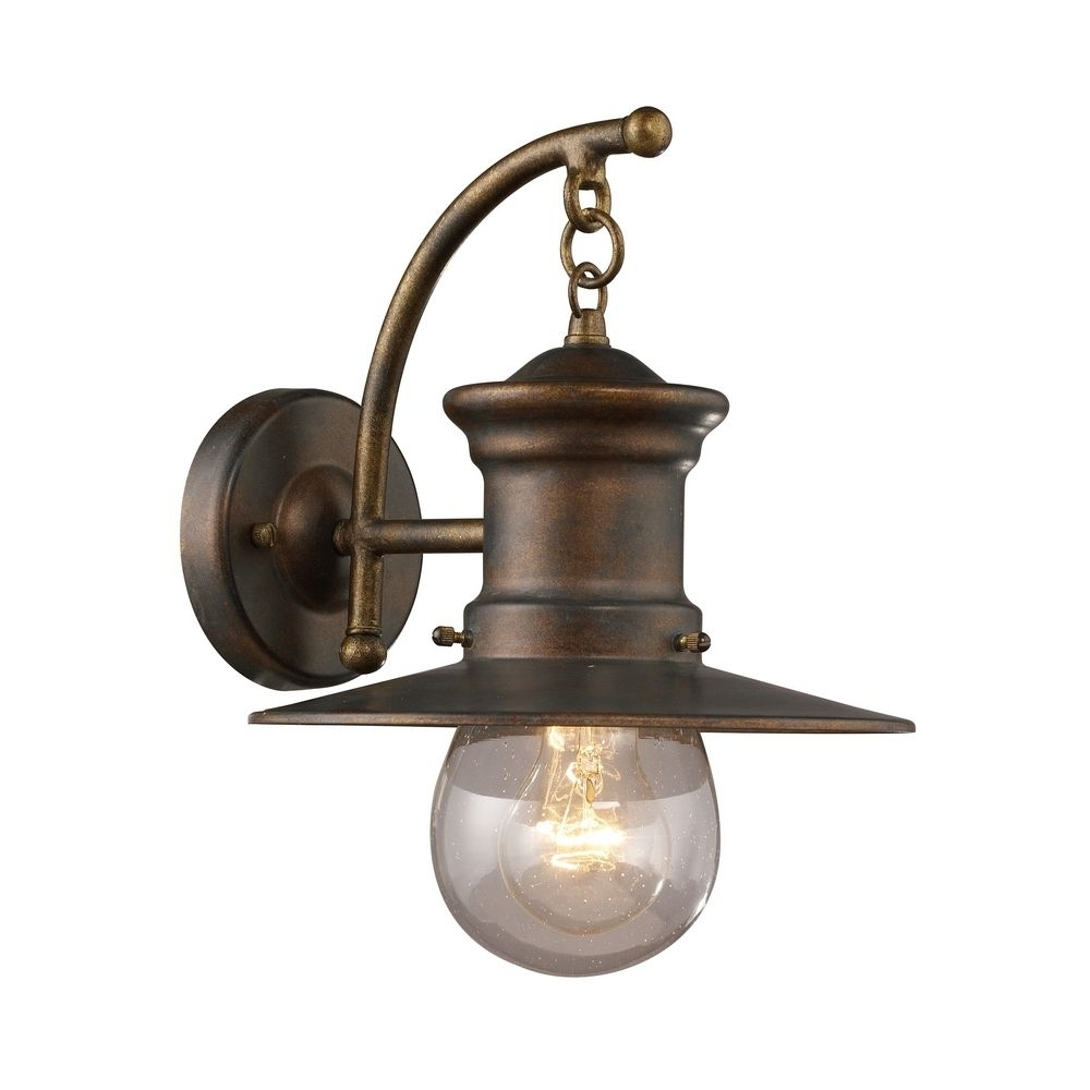 Light : Dazzling Cultivate Lowes Outdoor Lighting Brass With Plate Intended For Well Liked Farmhouse Outdoor Wall Lighting (View 9 of 20)